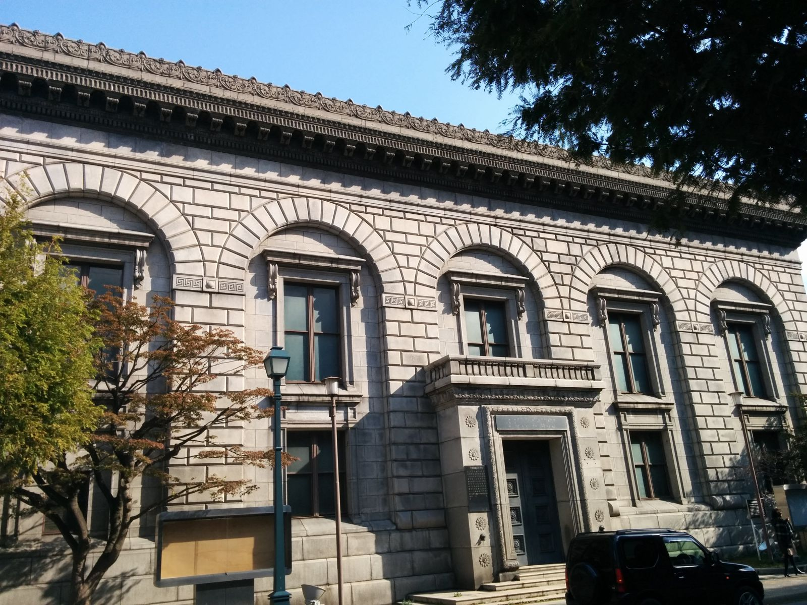 【小樽】旧三井銀行小樽支店観光案内です。
