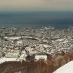 【北海道小樽での観光タクシー】冬のゆったり4時間観光Aコースです。