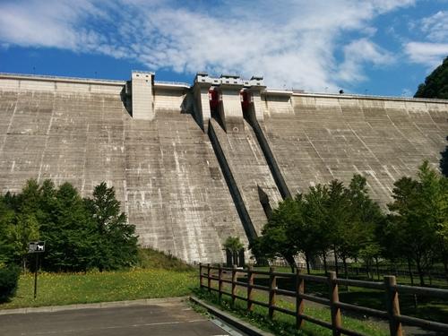 【定山渓】秋の定山渓ダム観光案内です。