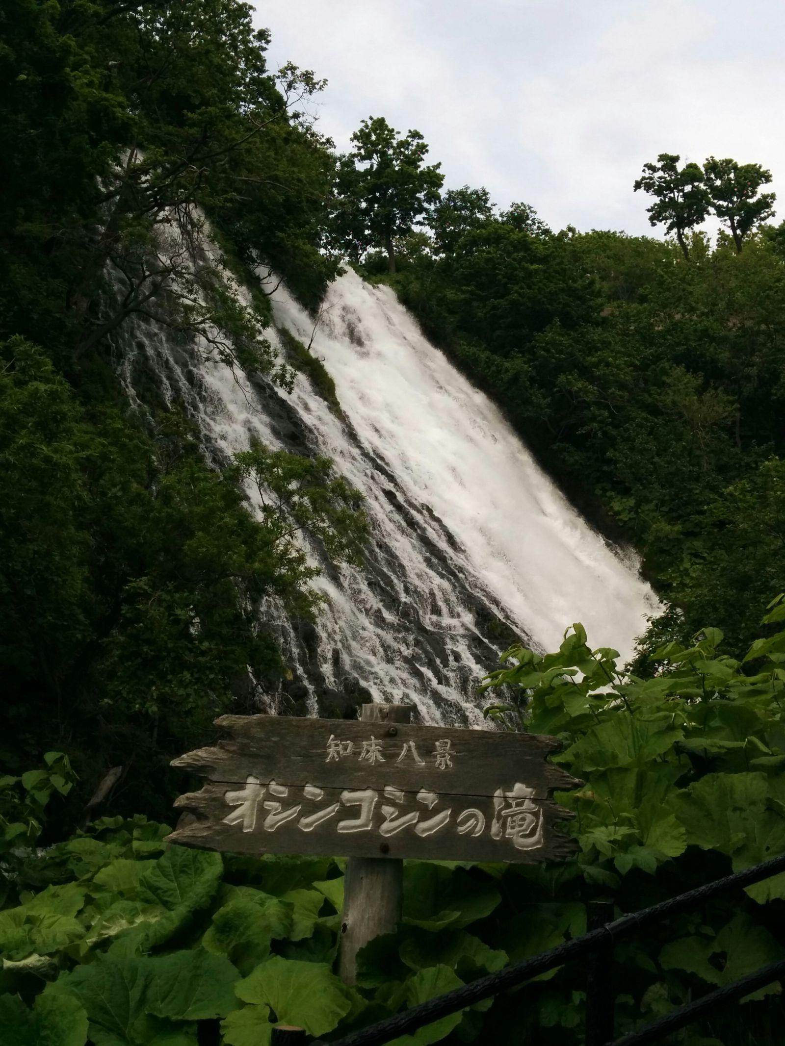 【知床宇登呂】オシンコシンの滝観光案内です。