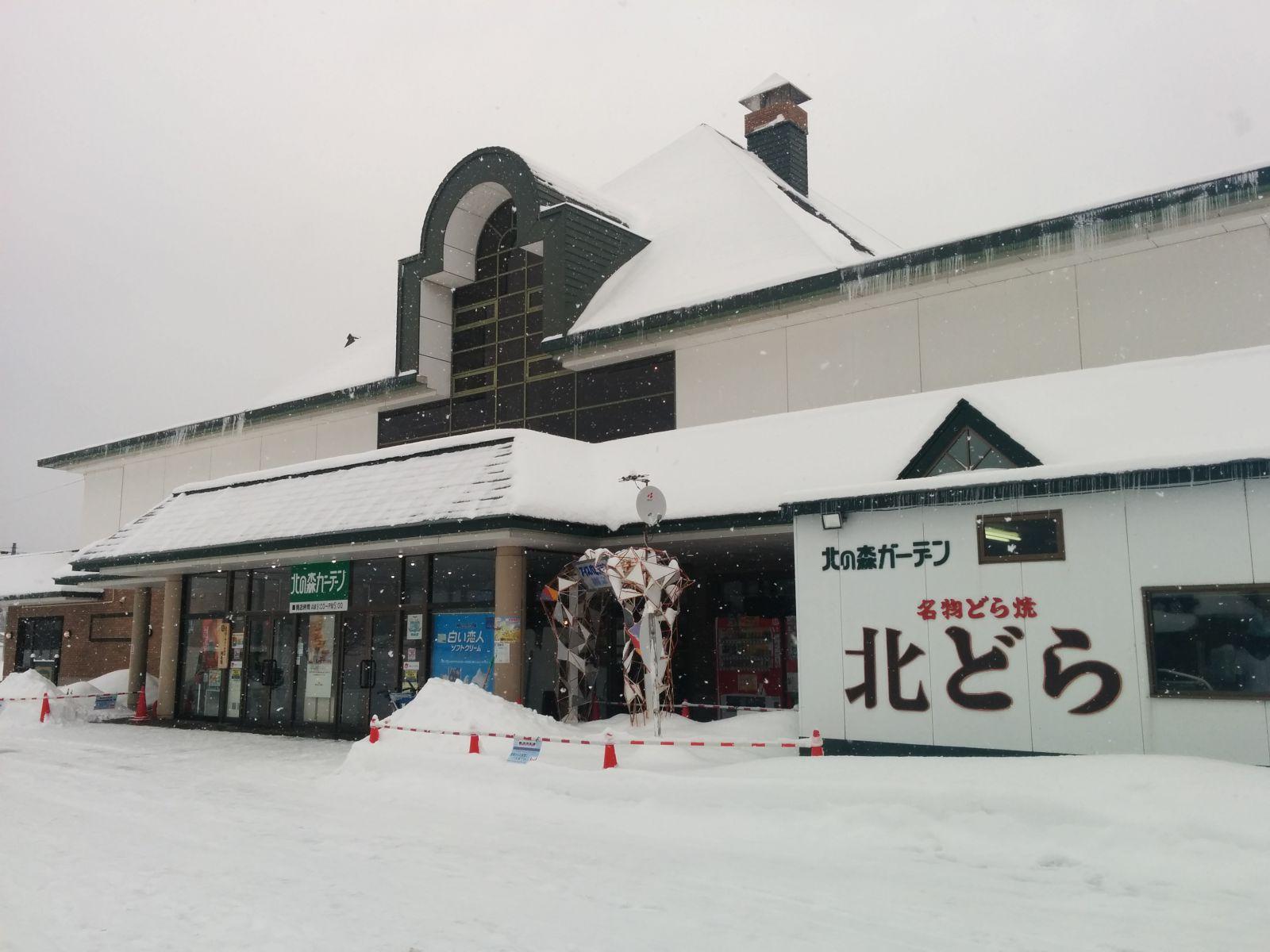 【上川町】北の森ガーデン・アイスパビリオン観光タクシー