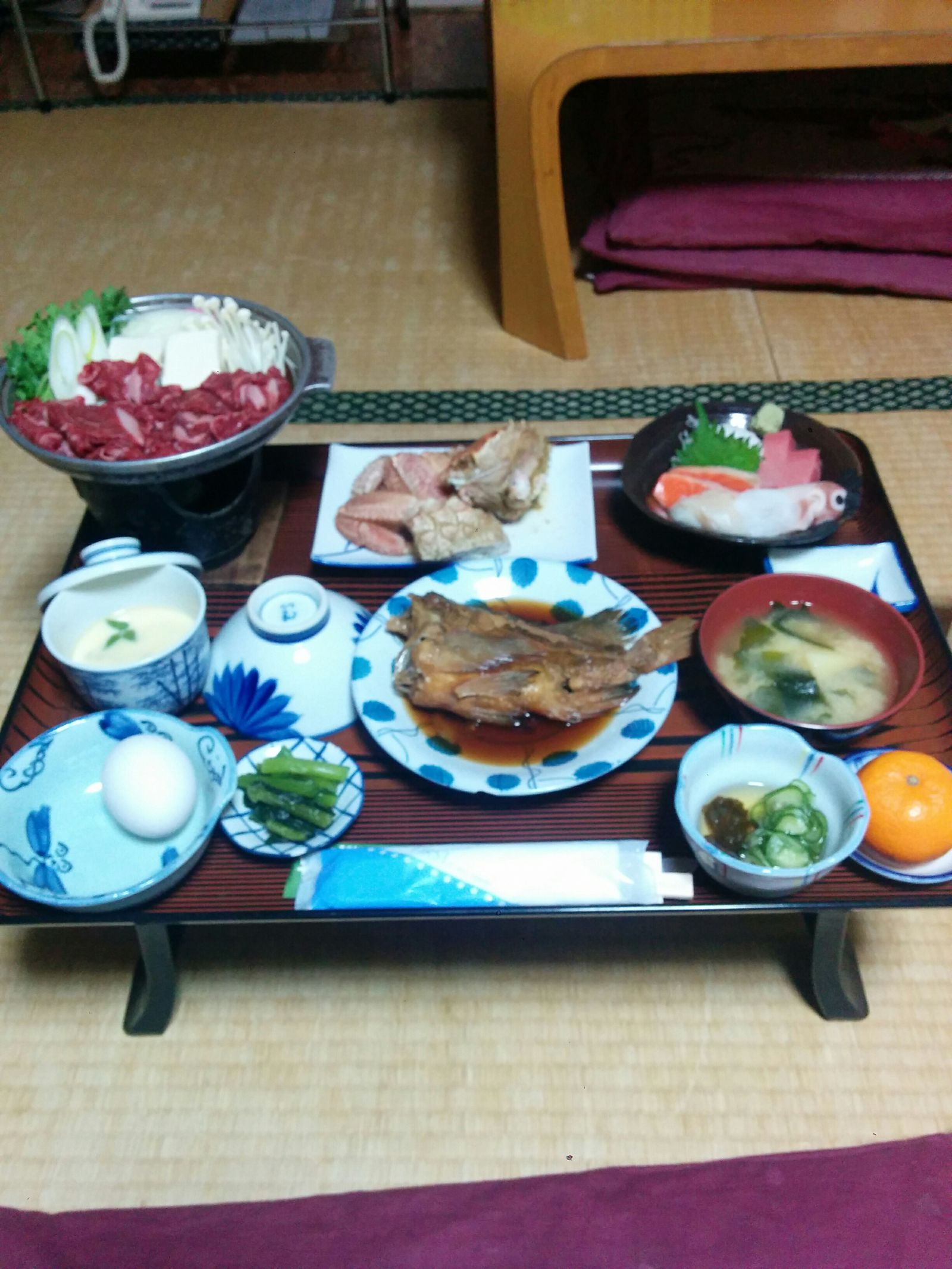 【白老町】白老町竹浦何時もの宿・富士の湯観光ホテルグルメ案内