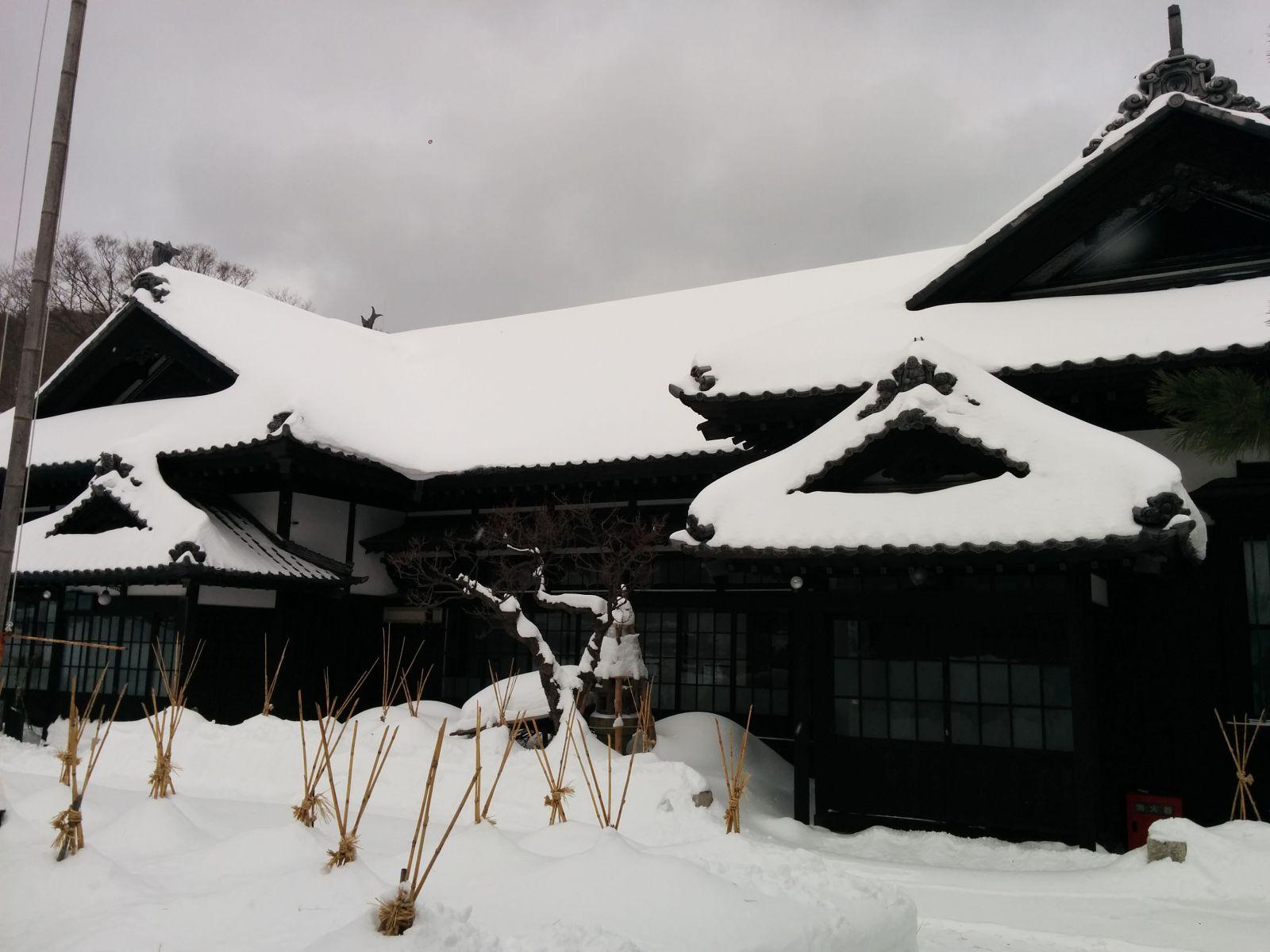【小樽市】冬の青山別邸観光案内です。