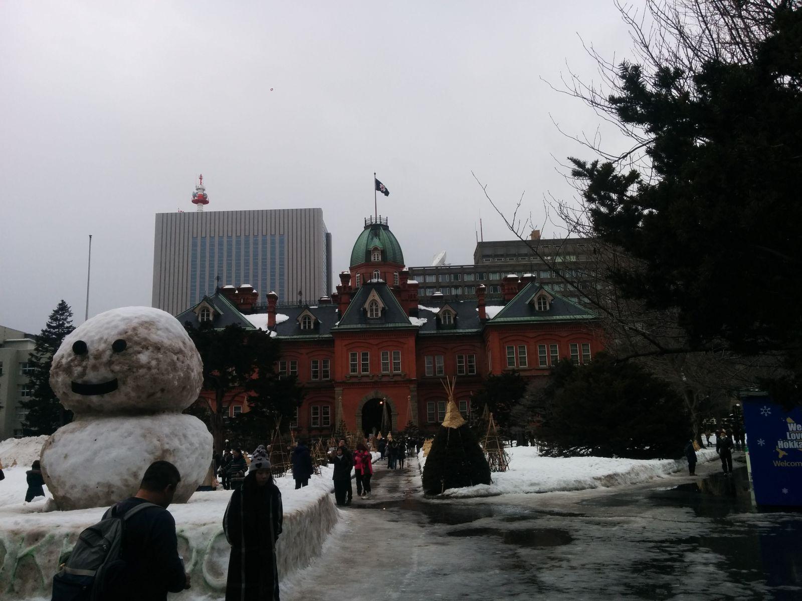 【札幌市】冬の北海道庁旧本庁舎観光タクシー
