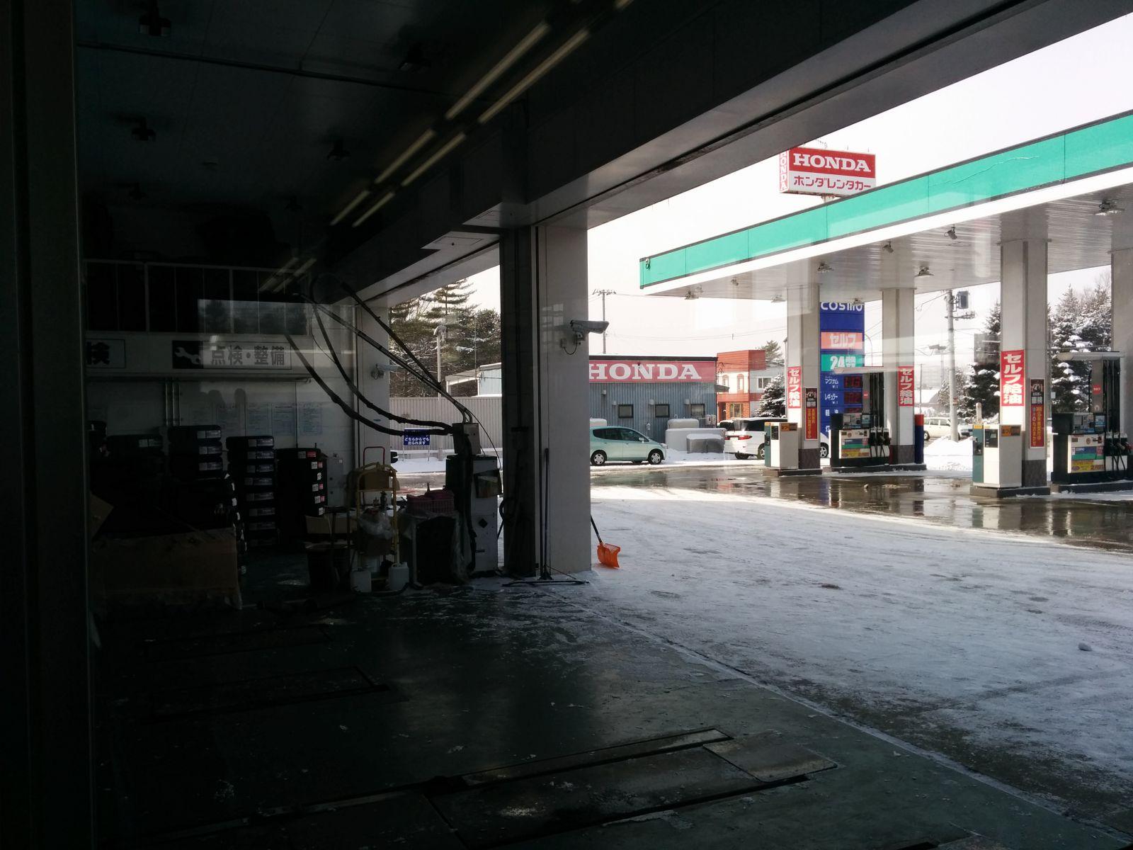 【千歳市】千歳市観光タクシー愛車の洗車