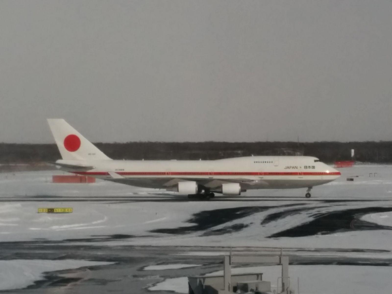 【新千歳空港】冬の新千歳空港・政府専用機観光案内です。