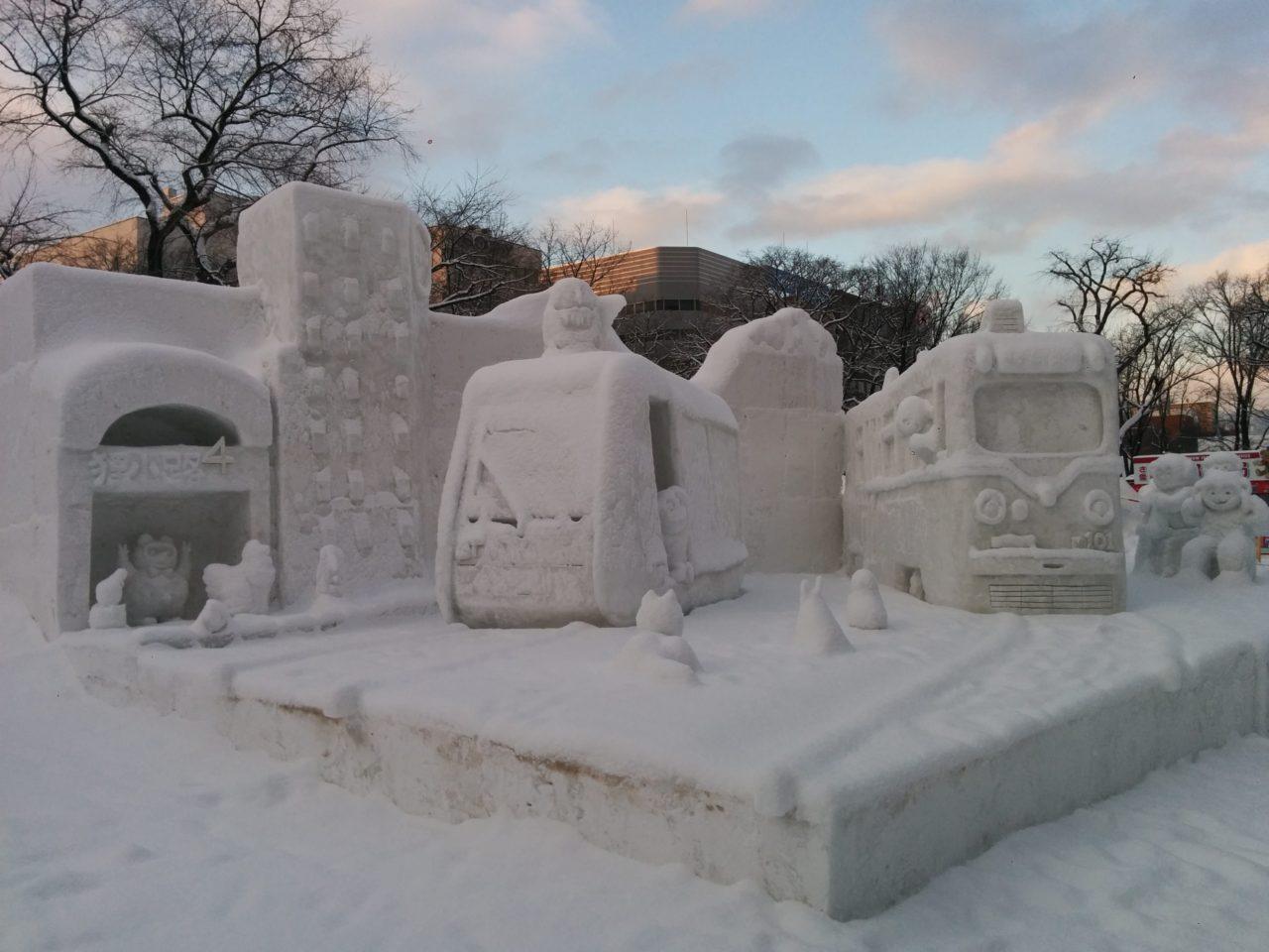 さっぽろ雪まつり観光タクシー・ジャンボタクシー