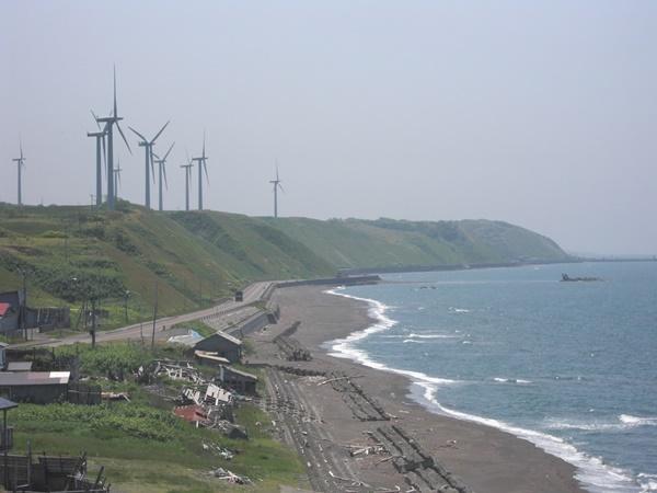 【苫前町】風力発電所観光案内です。