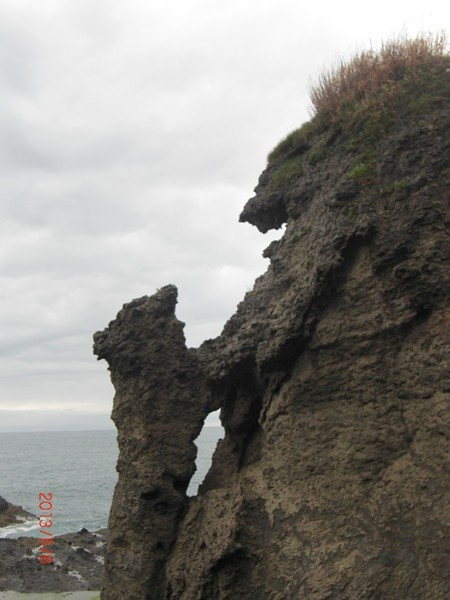 【瀬棚町大成区】追分ソーランライン親子熊岩・マンモス岩観光案内です。