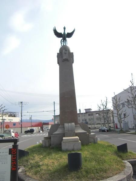 【函館】明治天皇御上陸記念碑観光案内です。