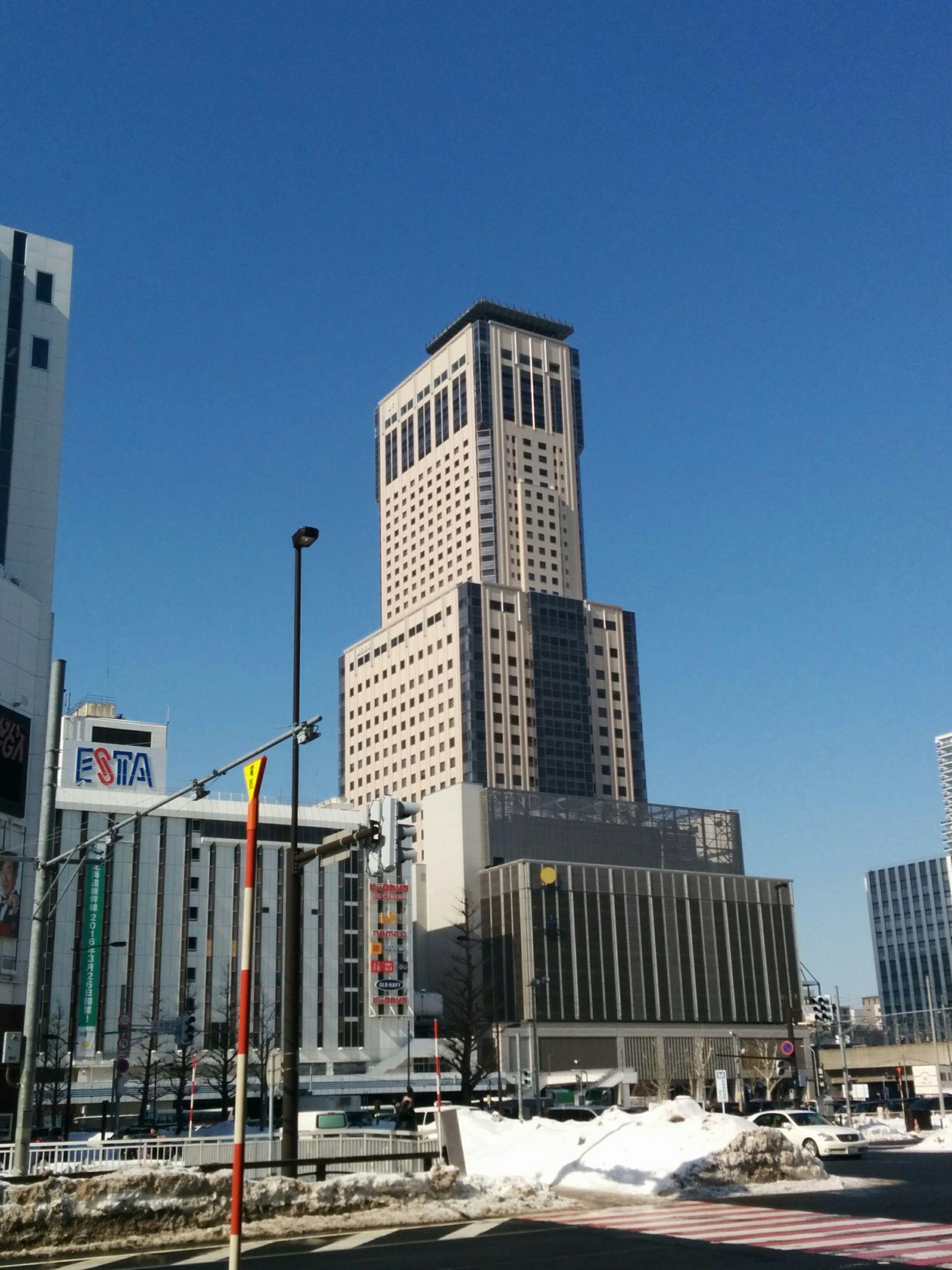 【札幌市】札幌JRタワー日航ホテル・全日空ホテル・モントレエーデルホフホテル観光タクシー