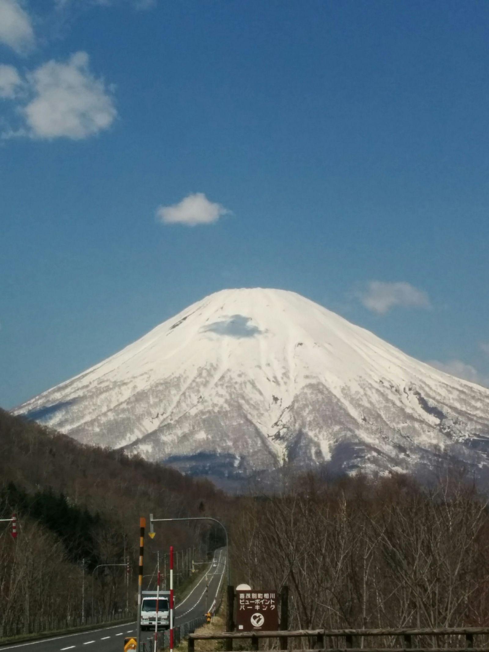 【蝦夷富士羊蹄山】蝦夷富士羊蹄山観光タクシー