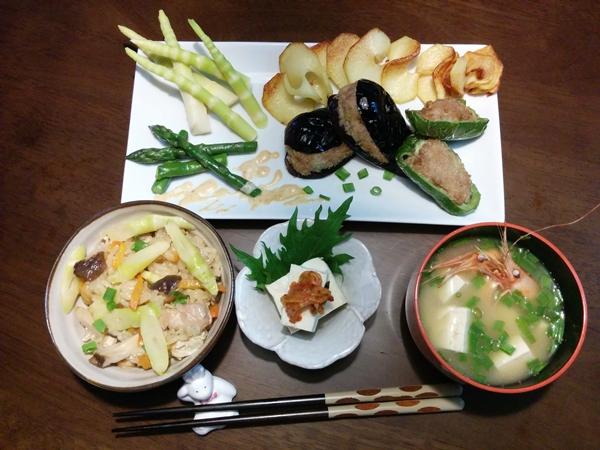 【小樽市】お家御飯・タケノコ御飯グルメ案内です。
