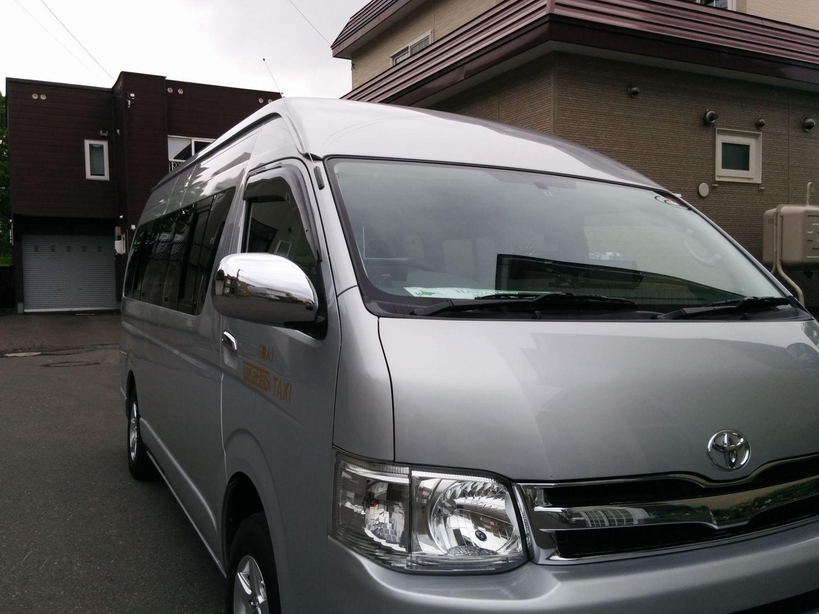 【小樽市】洗車完了・仕事へ出発です。