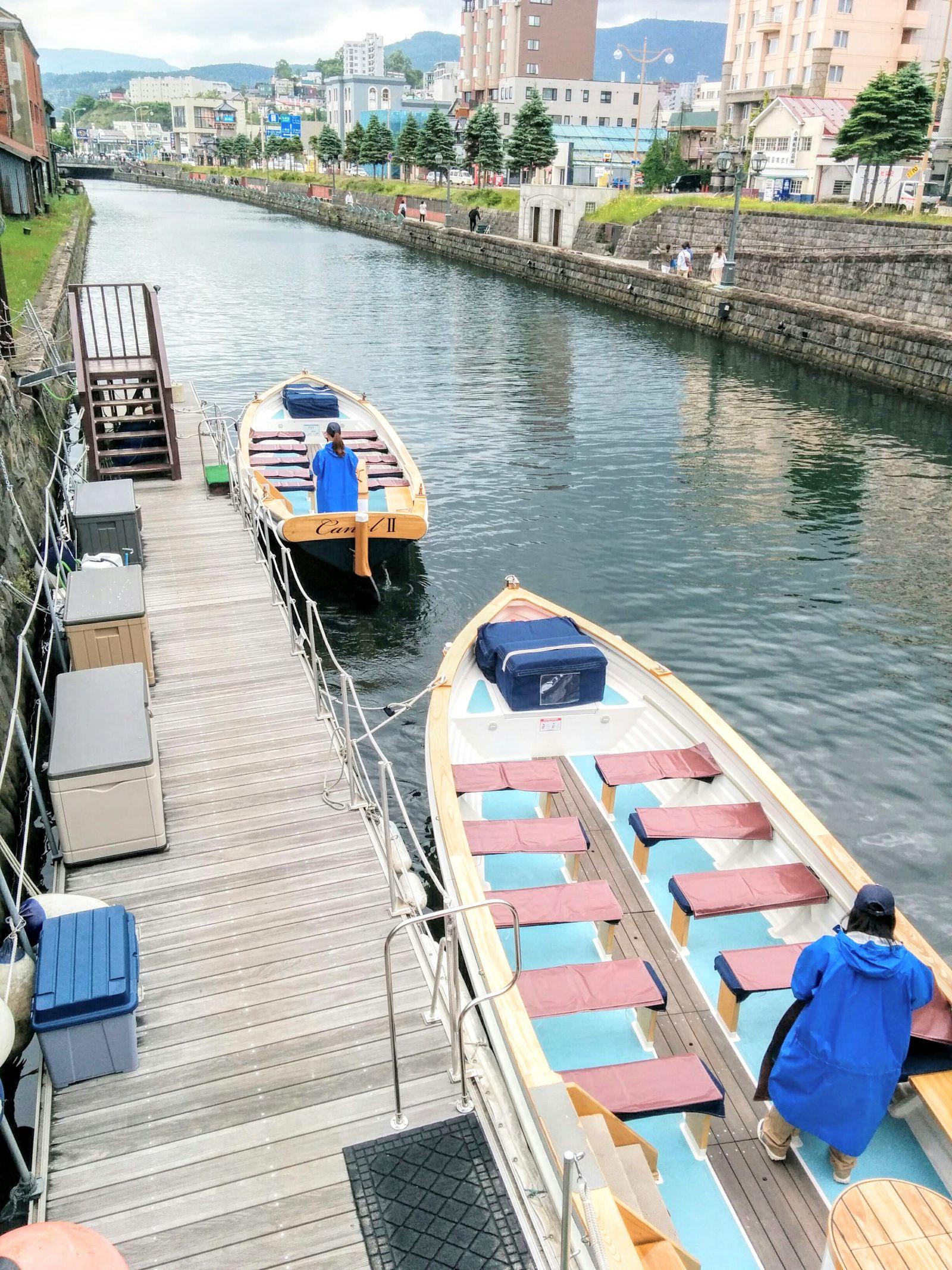 【小樽観光タクシー】小樽運河クルーズ船観光案内です。