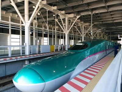 【新函館北斗駅】北海道新幹線観光写真です。