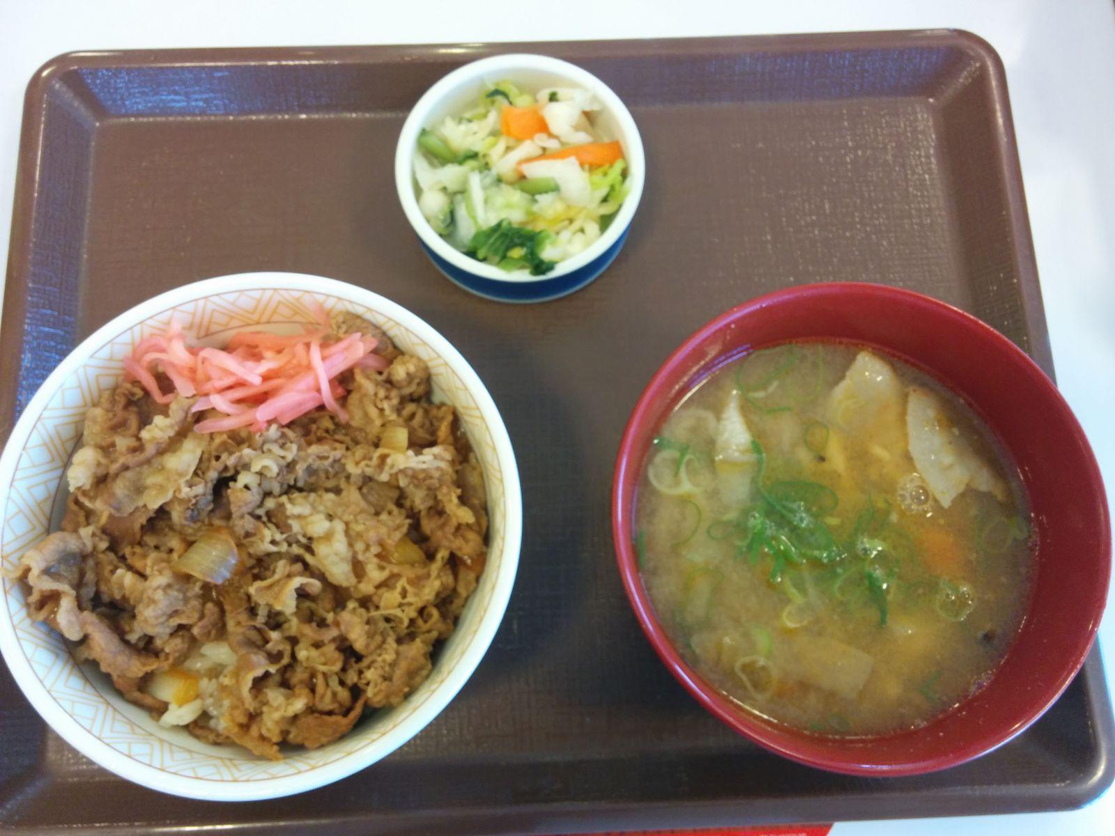 【小樽市】小樽すき家観光グルメ案内です。
