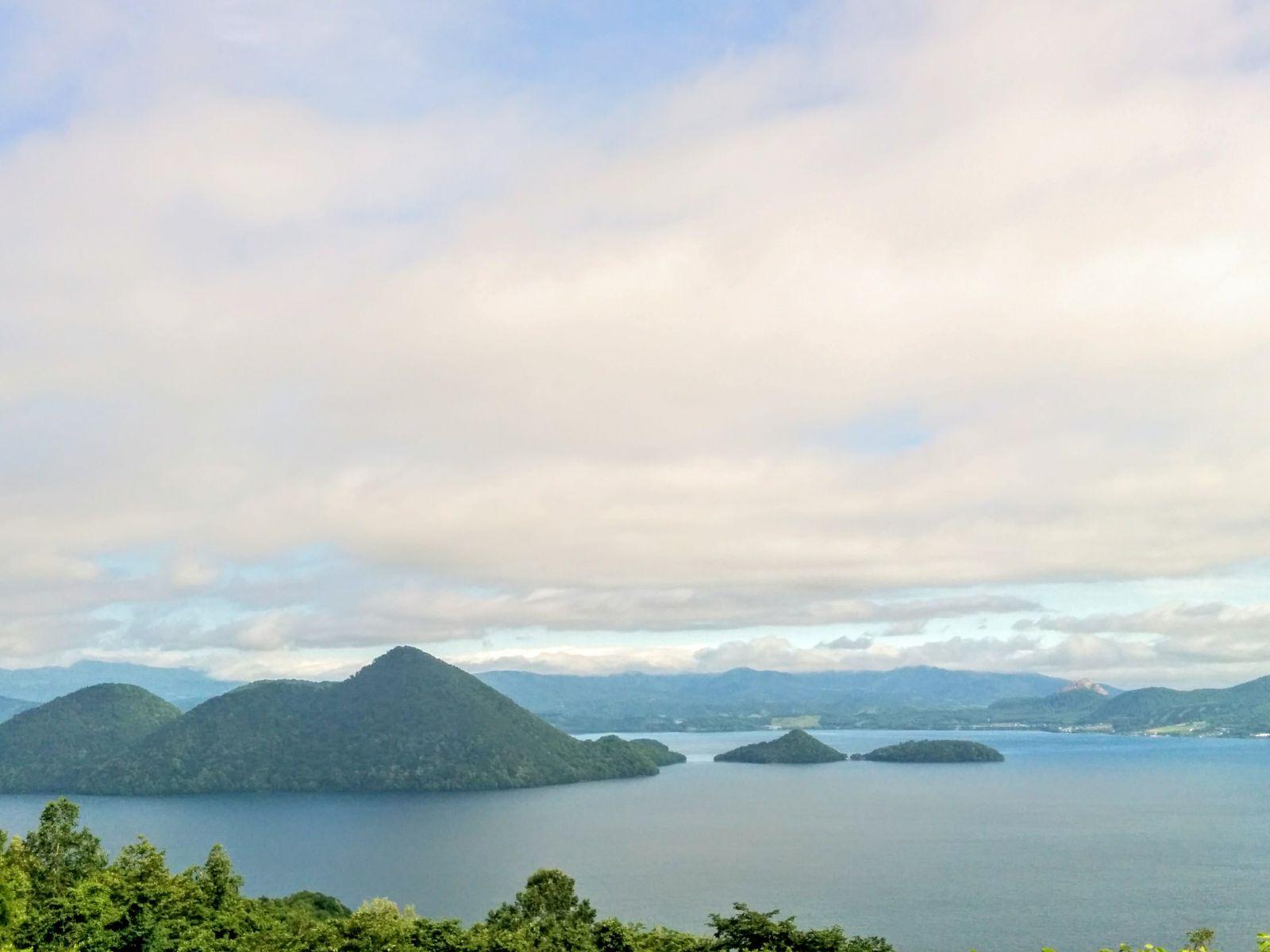【洞爺湖】夏の洞爺湖サイロ展望台観光案内です。