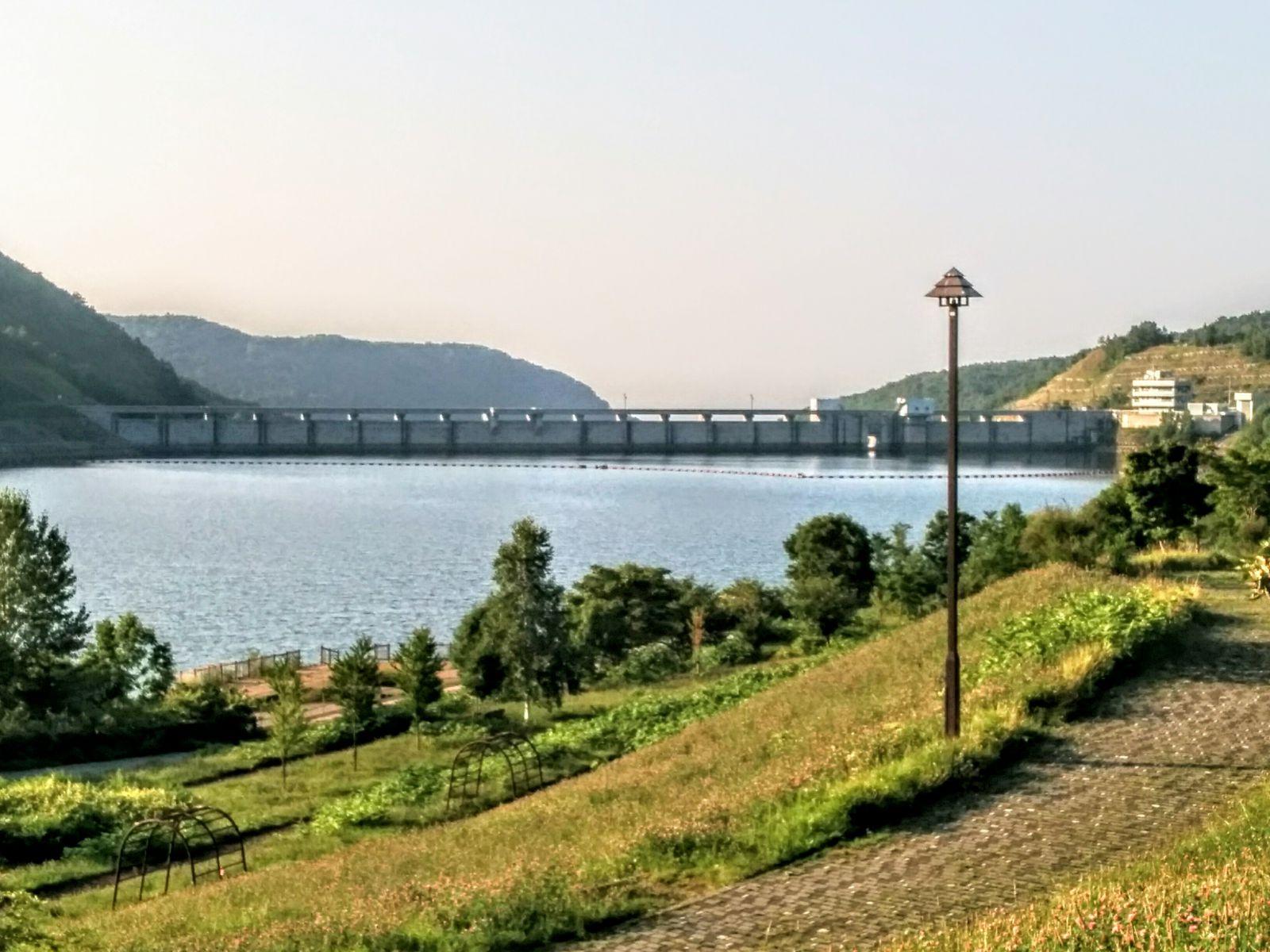 【朝里川温泉】朝里ダム観光案内です。