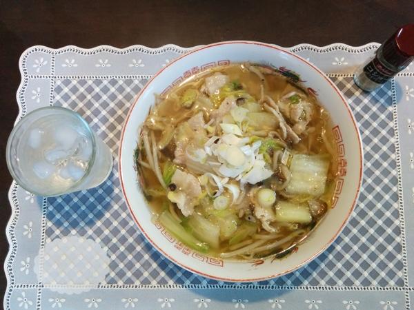 【小樽】自作、塩野菜豚肉あんかけラーメングルメ案内です。