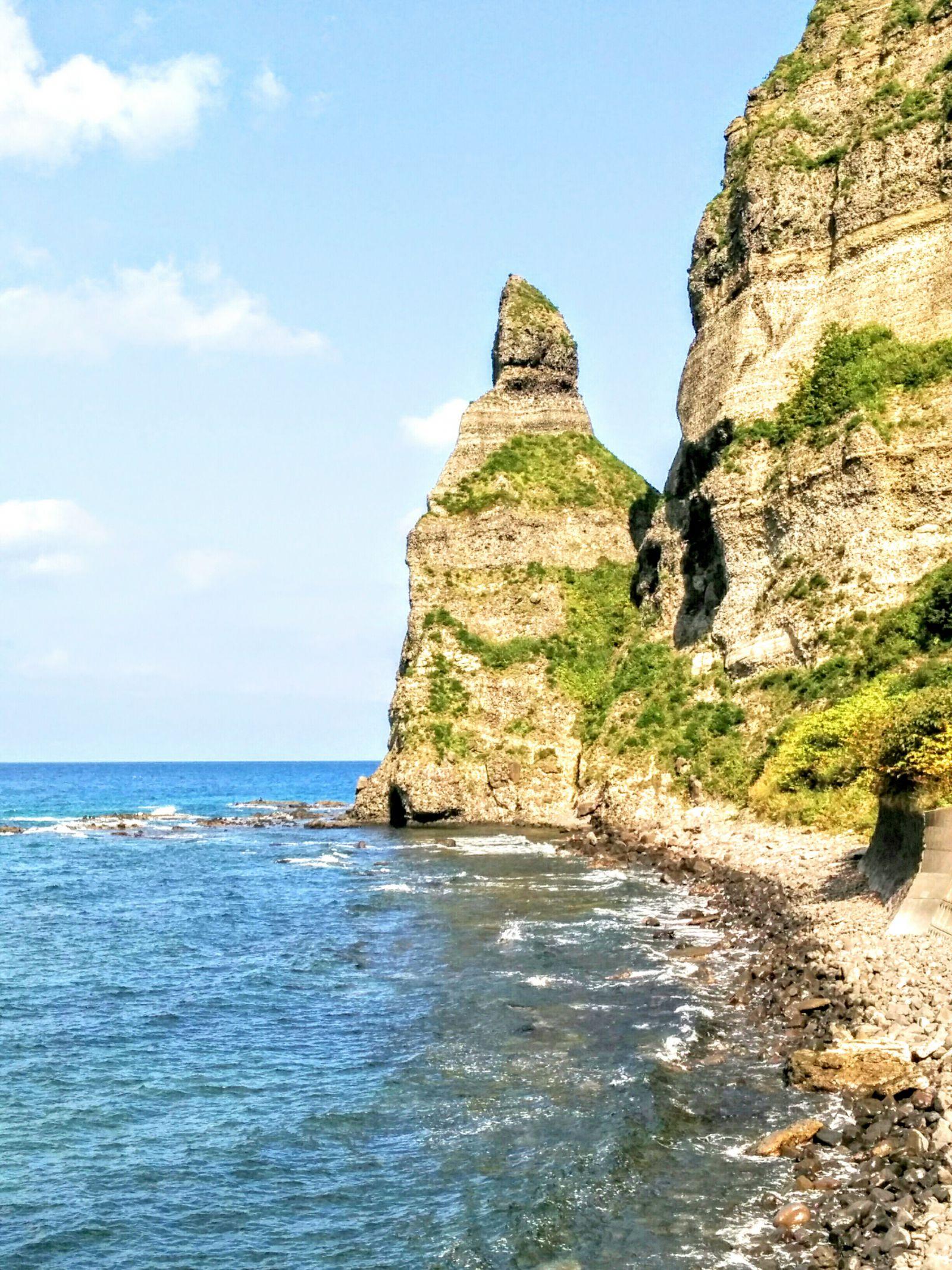 【積丹半島】セタカムイラインのセタカムイ岩観光案内です。
