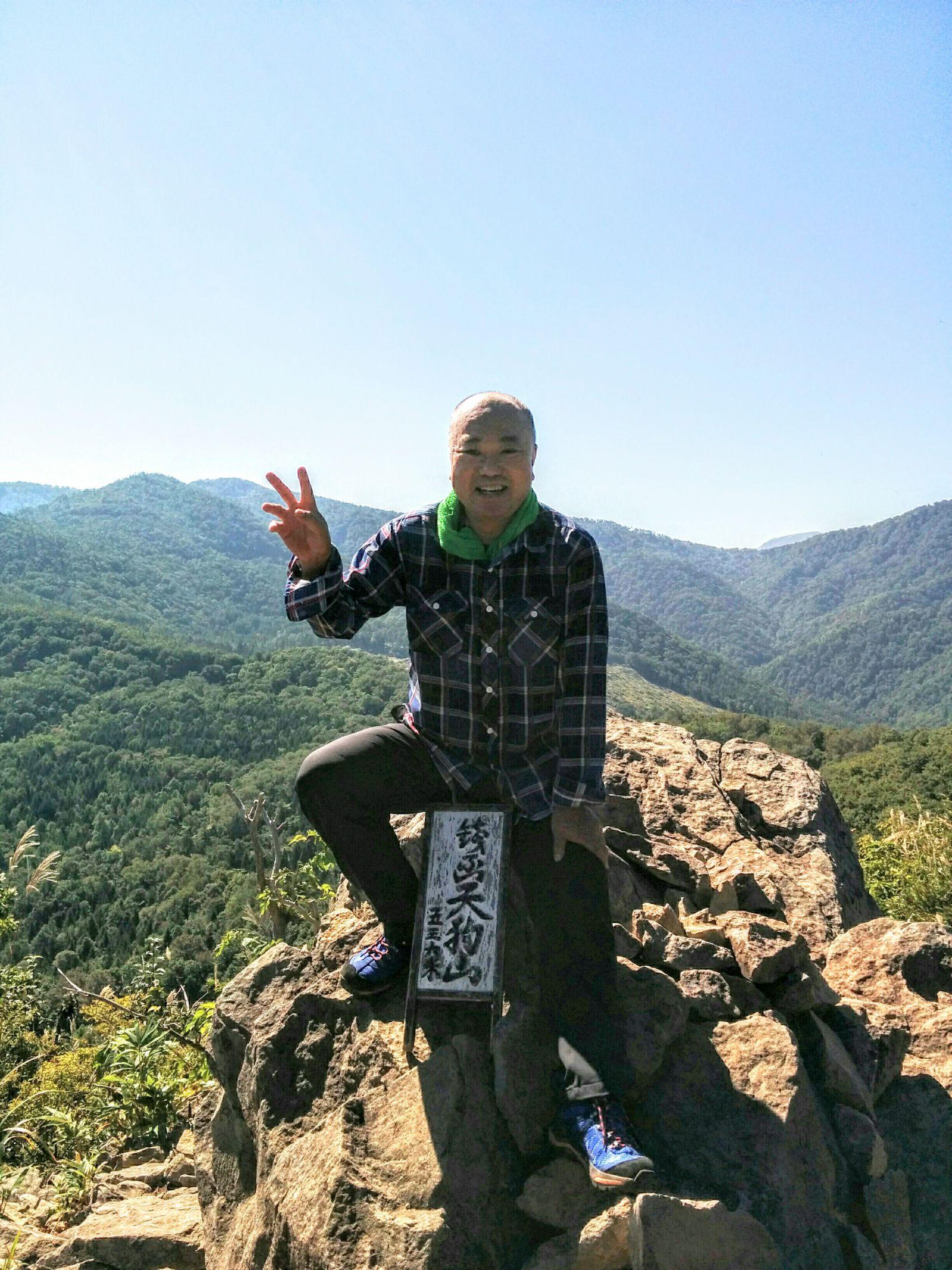【小樽観光ジャンボタクシー】銭函天狗山登山です。
