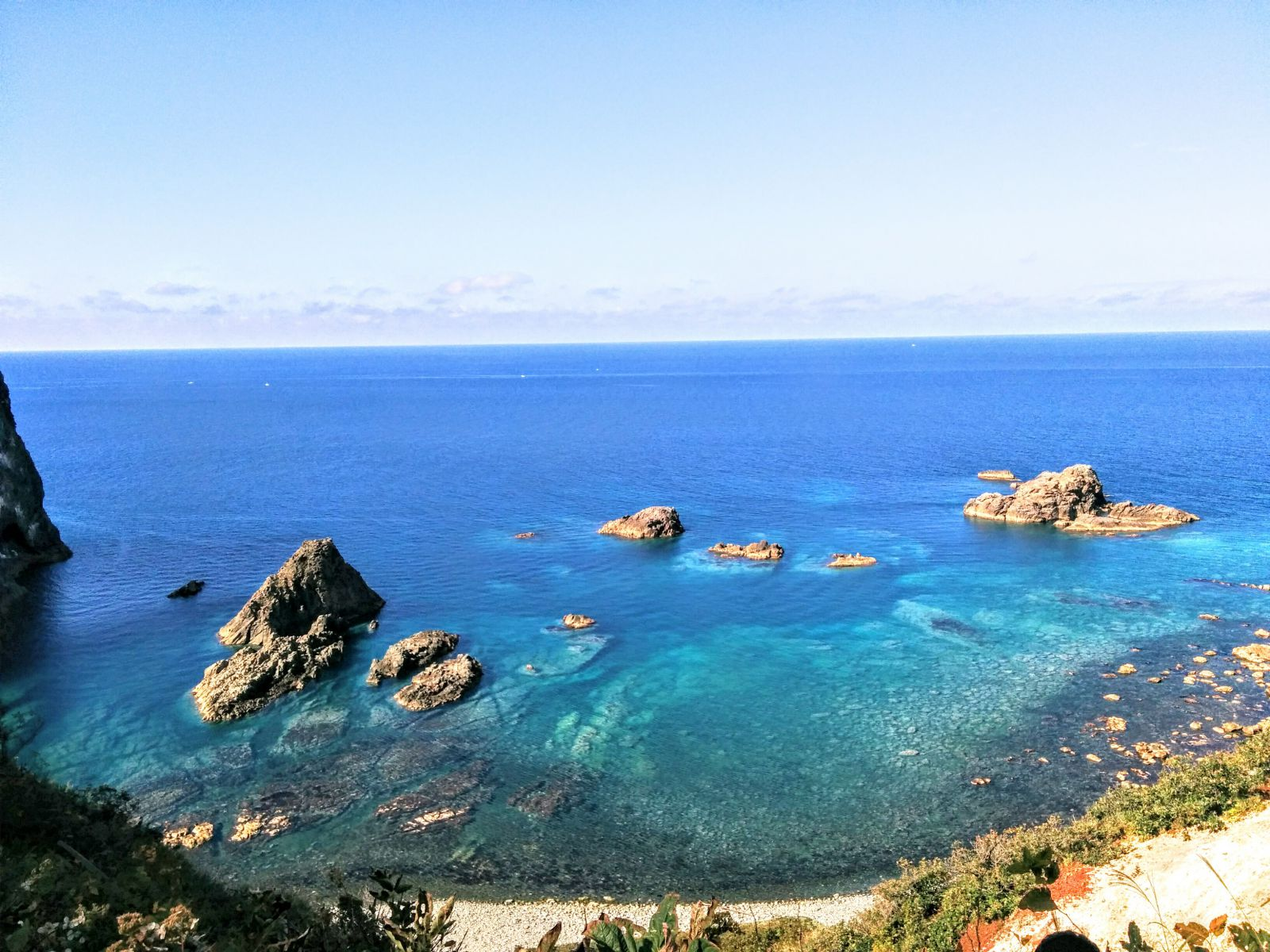 積丹半島積丹岬日本の渚100選島武意海岸観光タクシー