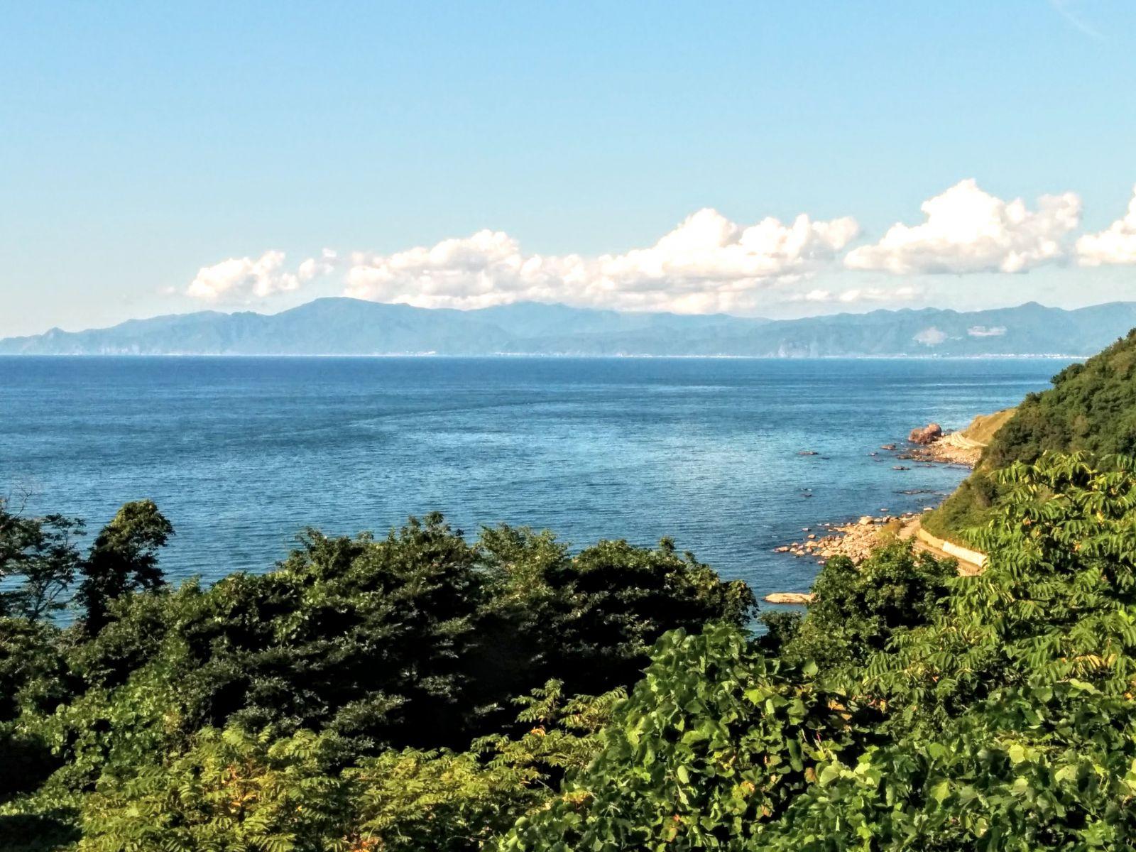 岩内町雷電海岸観光案内です。