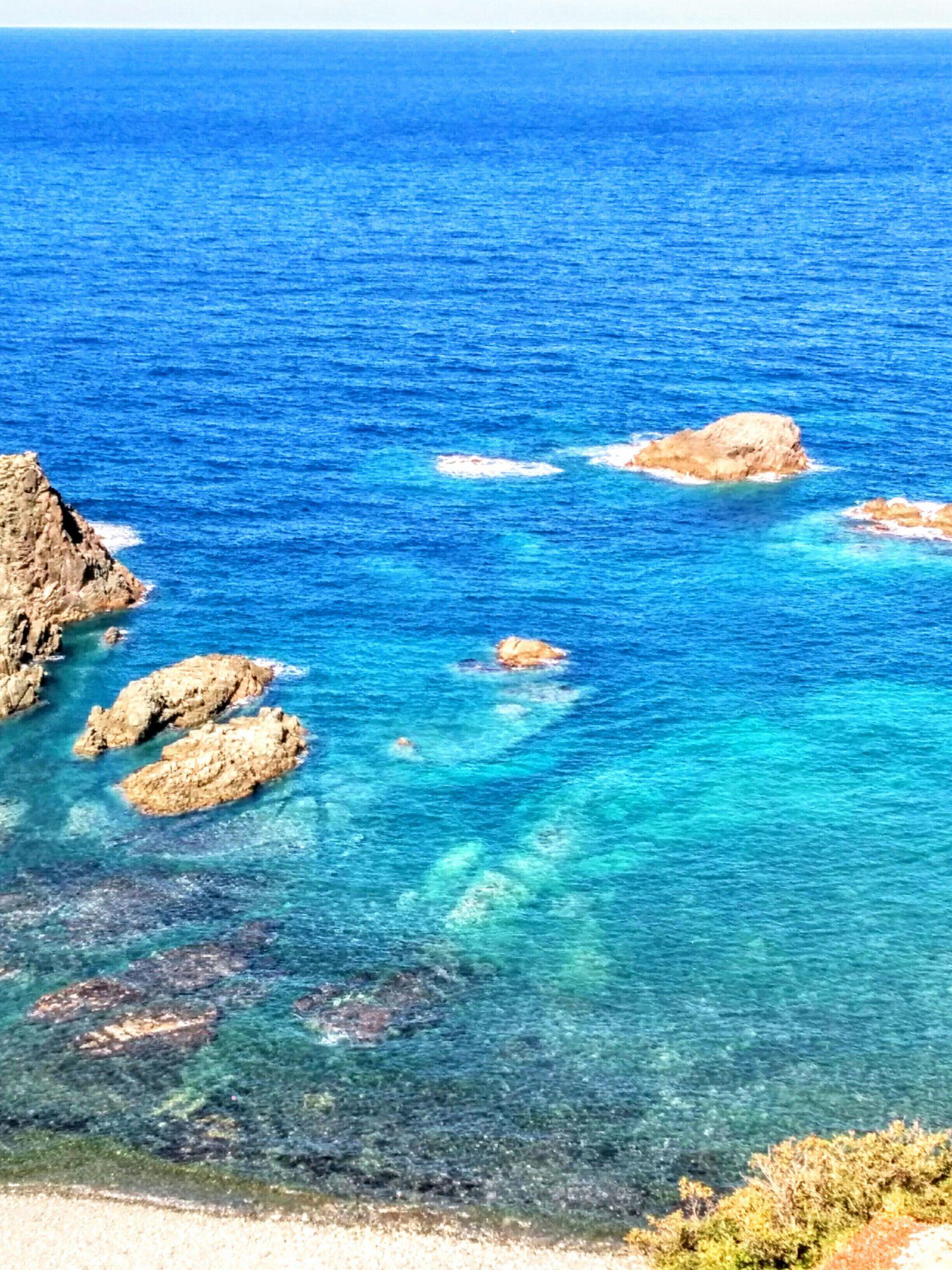 積丹半島積丹岬観光写真です。