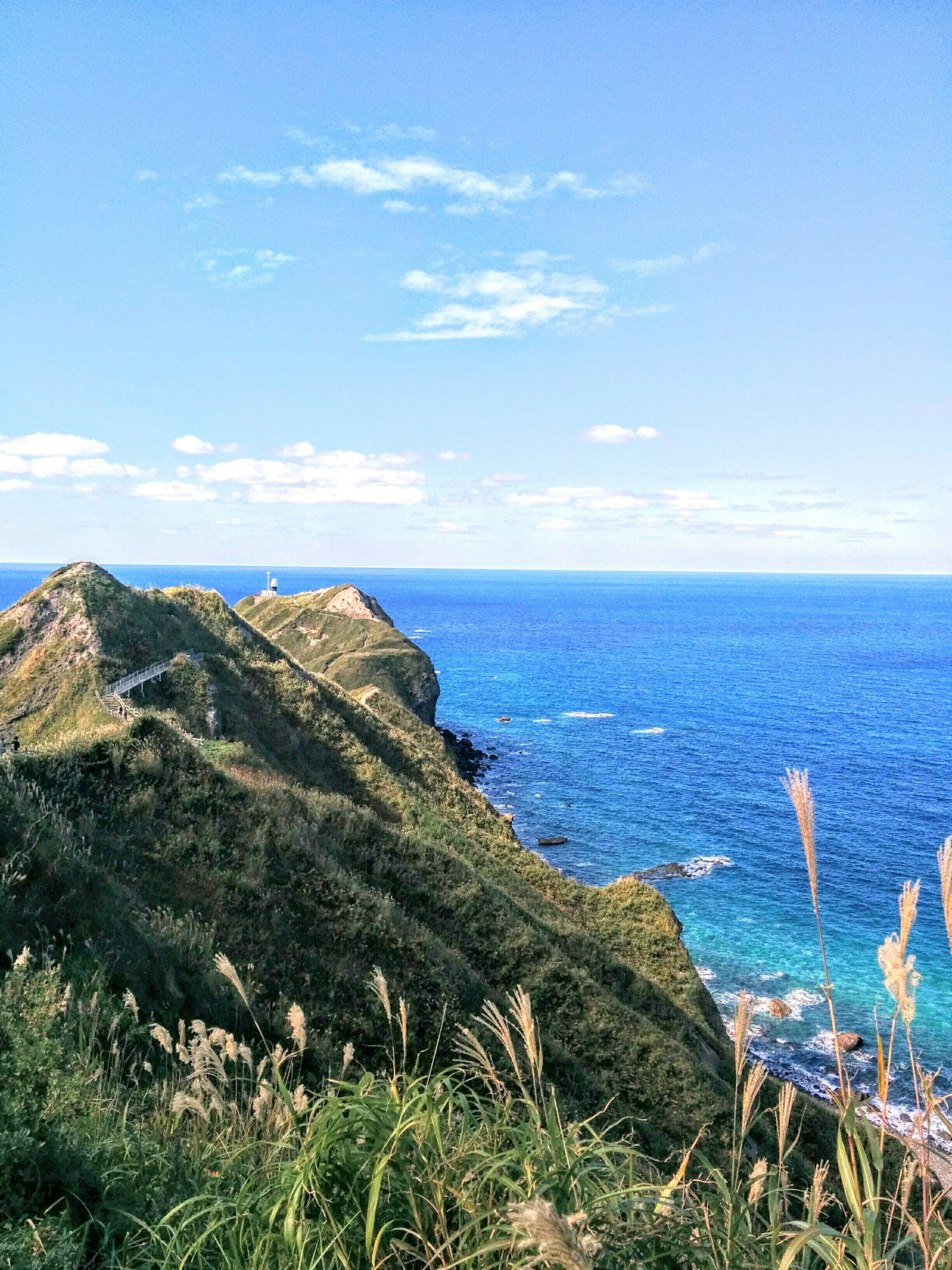 積丹半島神威岬での送迎観光タクシー・ジャンボタクシー
