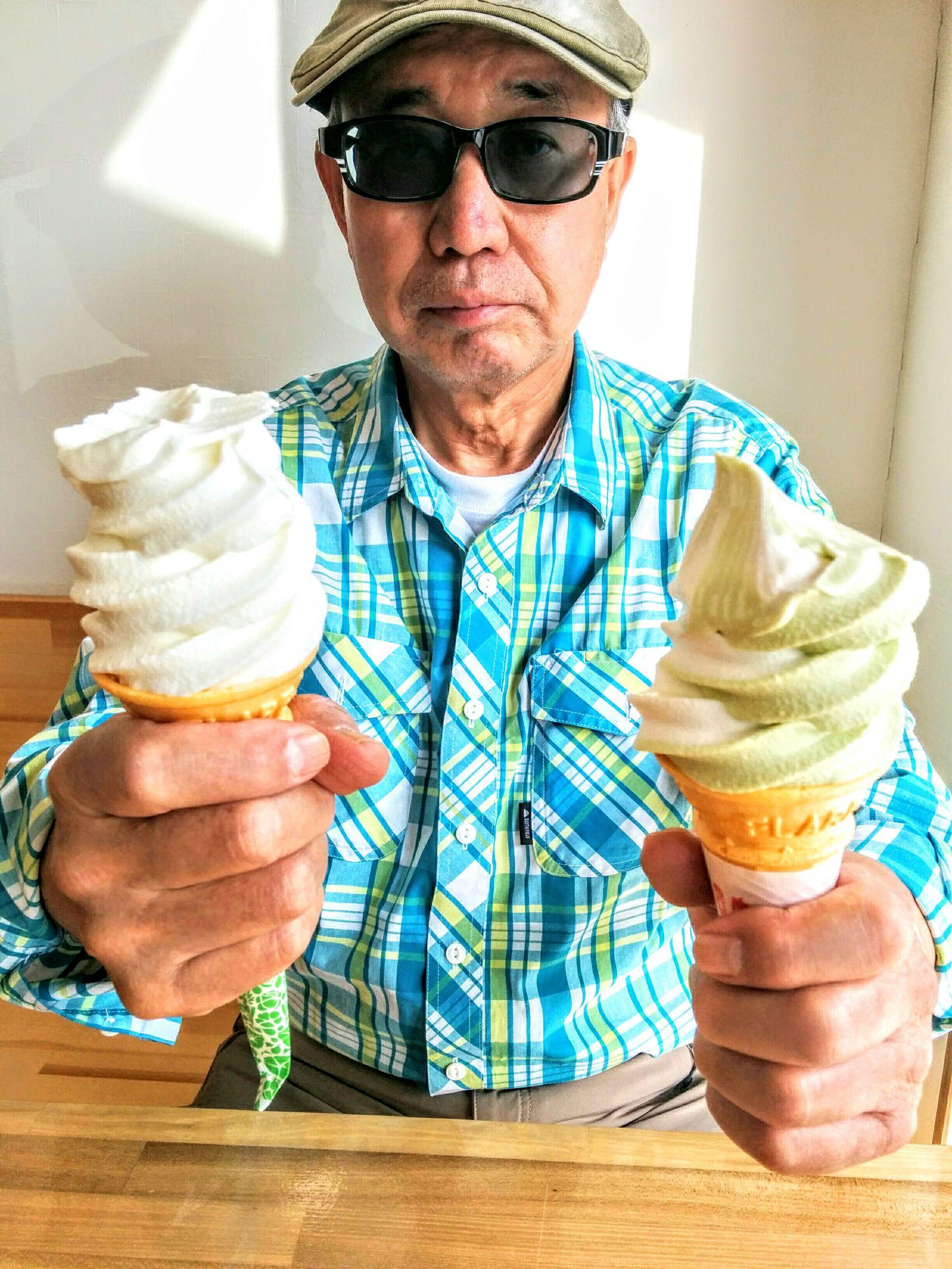 【キロロリゾート赤井川村】山中牧場ソフトクリーム観光グルメ案内です。