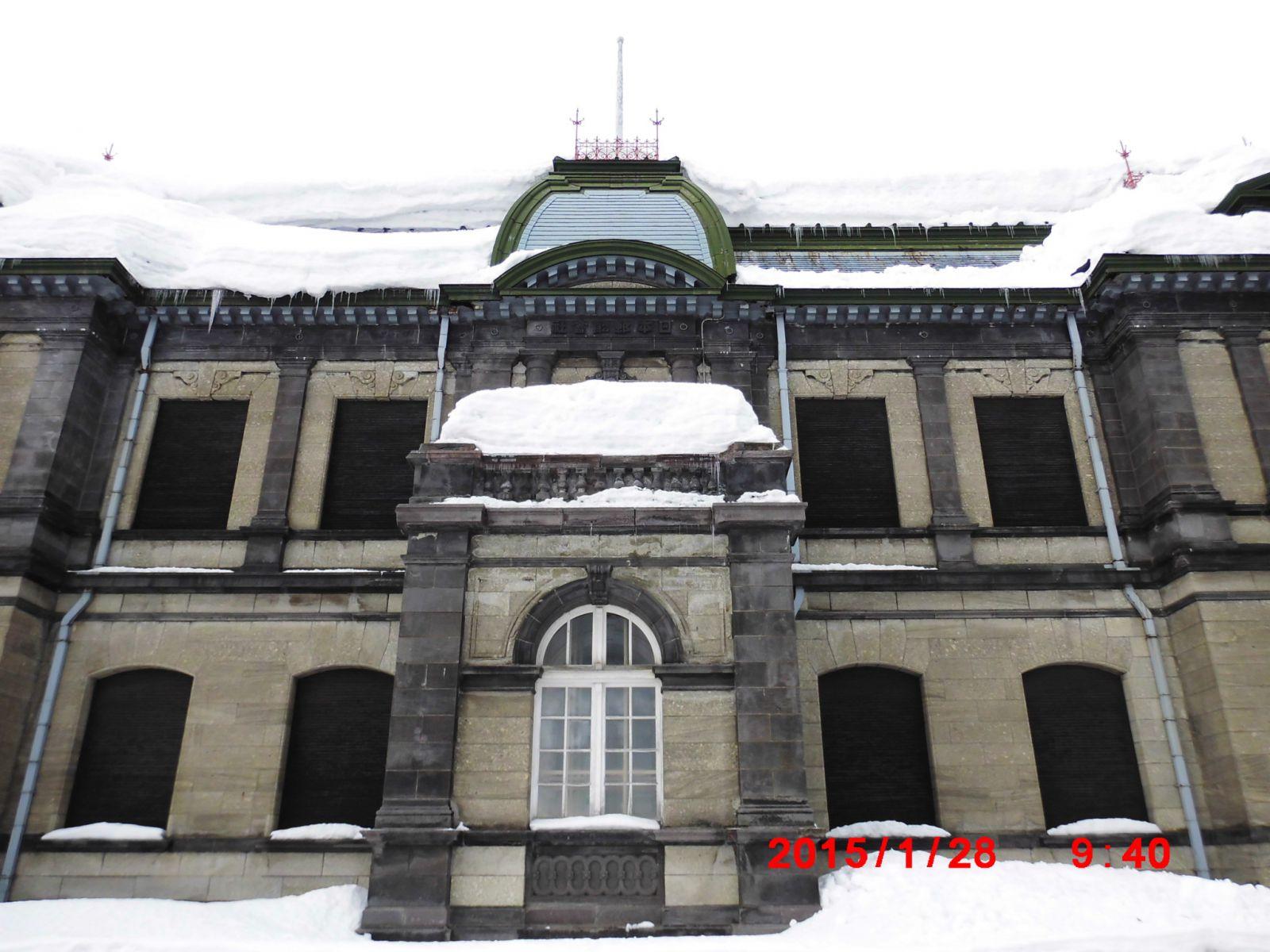 旧日本銀行小樽支店と旧日本郵船小樽支店