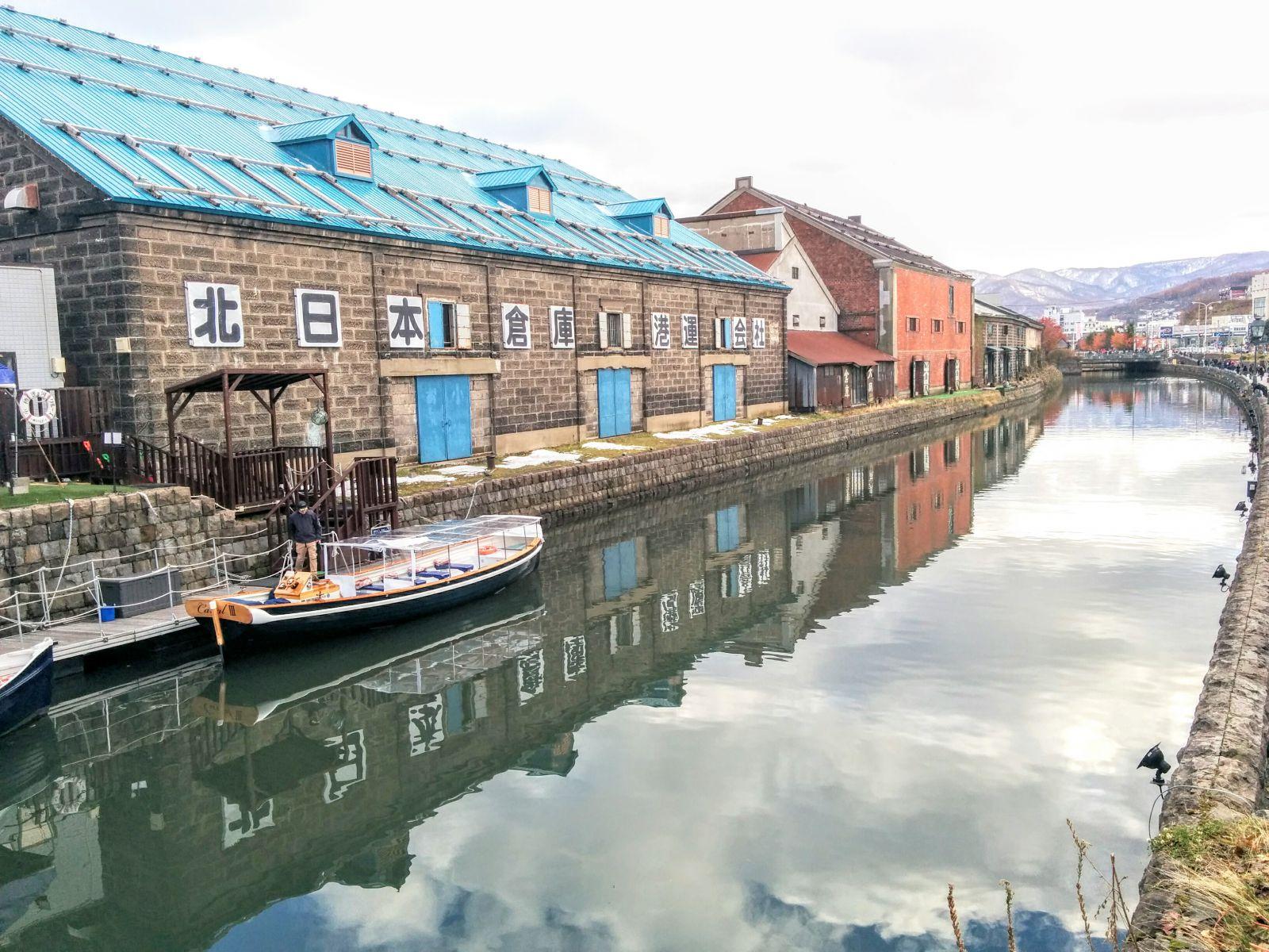 小樽での観光タクシーのご利用は個人髙橋タクシーへ!!運河観光案内です。