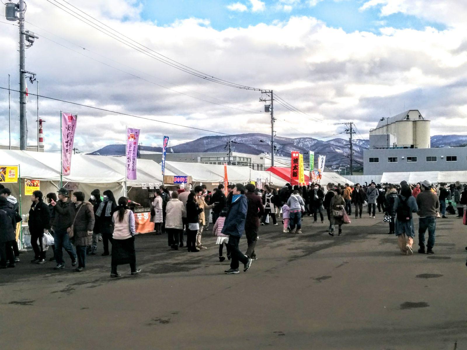 小樽しゃこ祭り観光案内です。