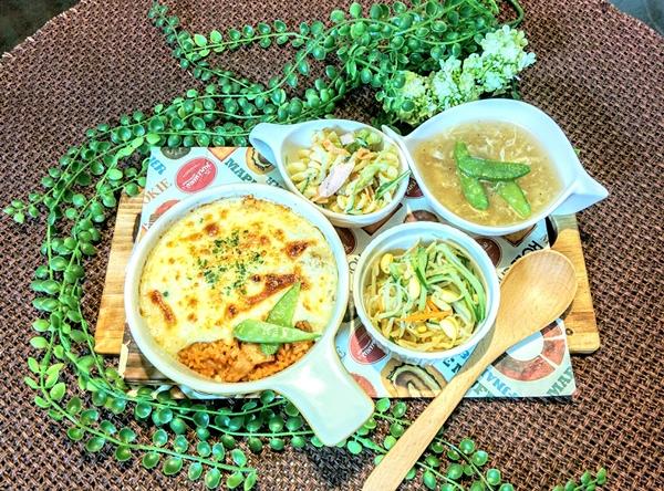 【小樽】お家御飯・クリーミー豆腐のドリアグルメ案内です。