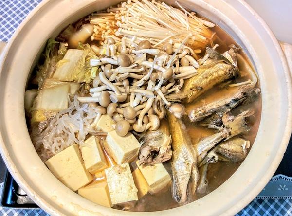 【北海道】「はたはた鍋」です。