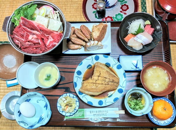 何時もの白老富士の湯温泉観光グルメ案内です。