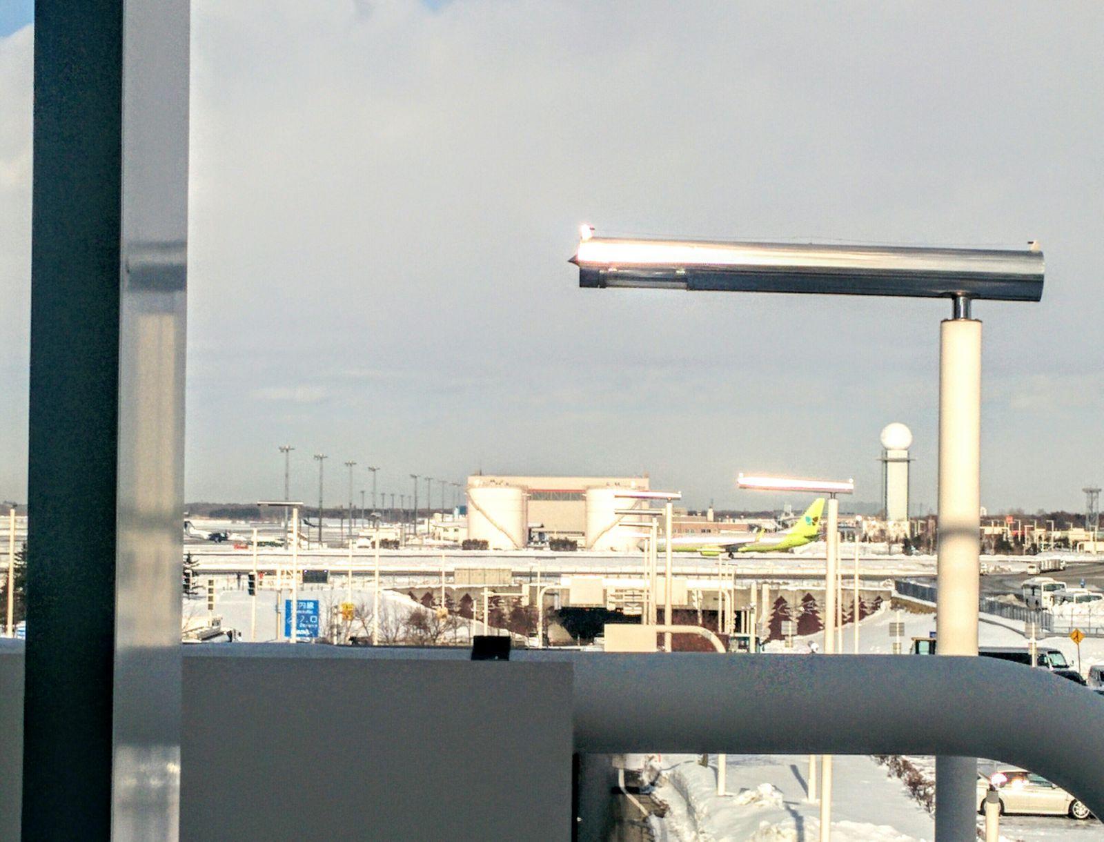 新千歳空港観光写真です。