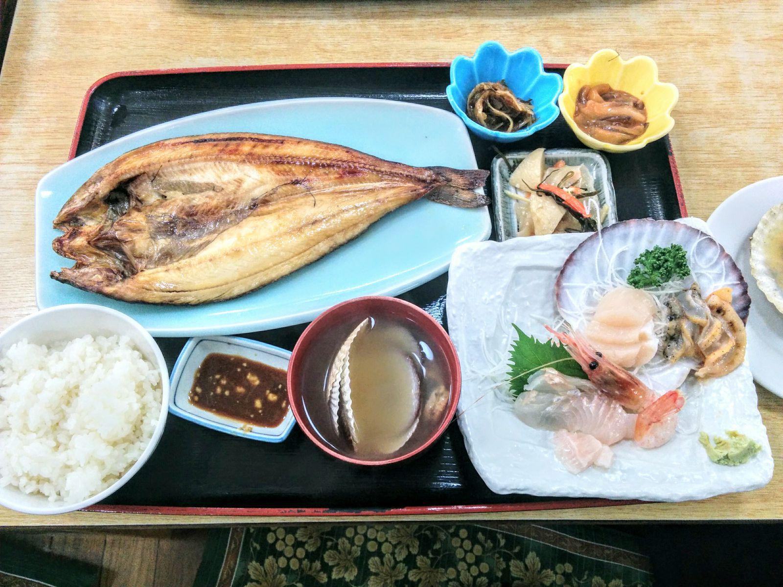 【小樽】青塚食堂観光タクシー