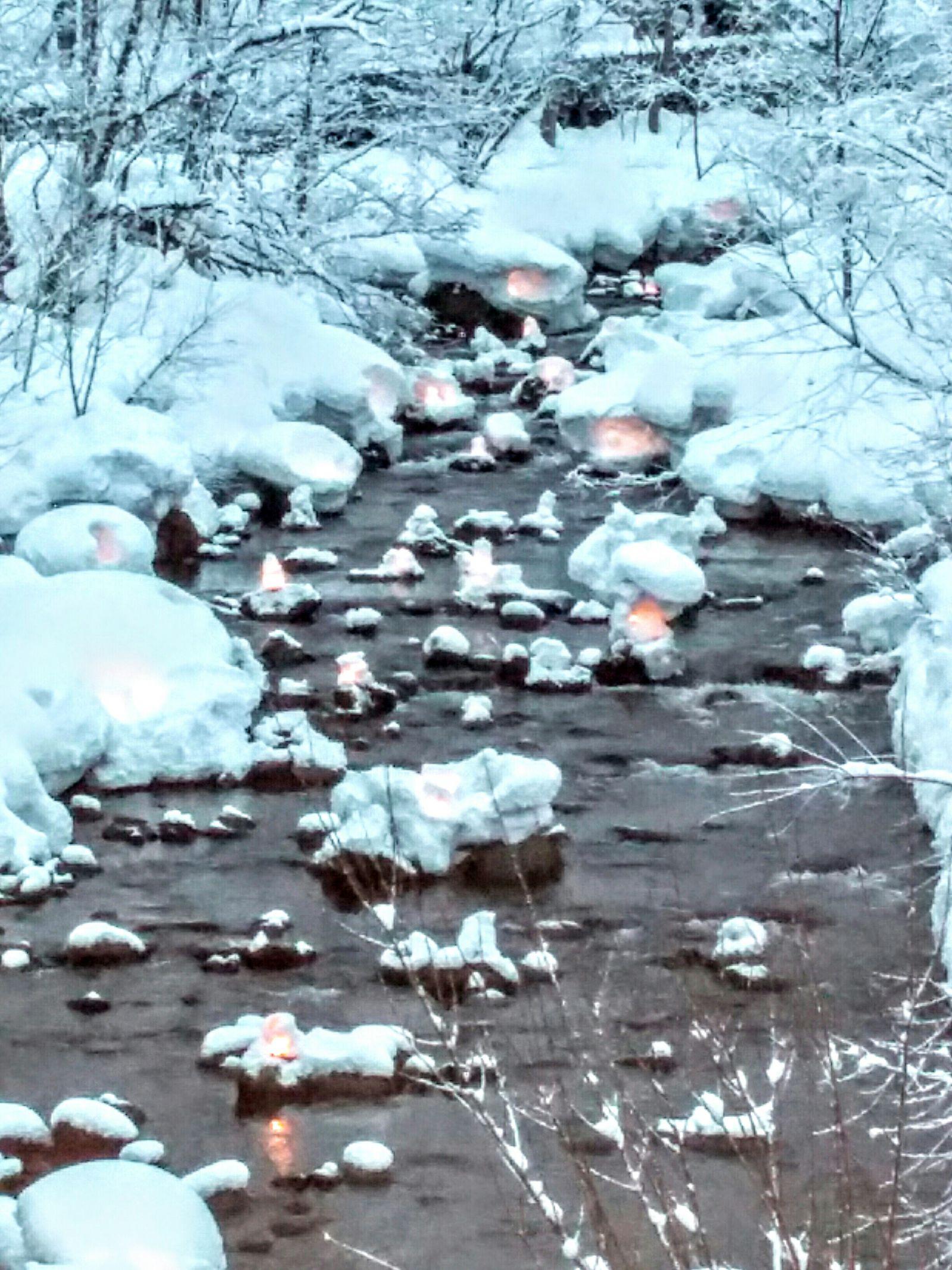 【小樽】小樽雪あかりの路・朝里川温泉会場観光タクシー