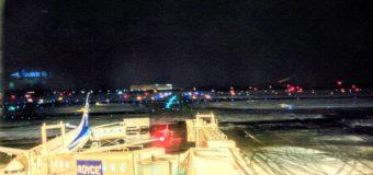 【新千歳空港】夜の新千歳空港観光写真です。