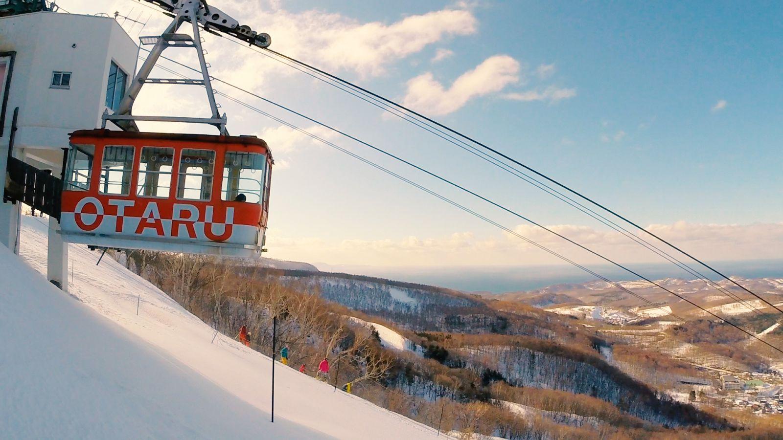 小樽天狗山春スキーが気持ちいいですよ!