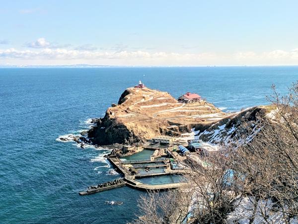 【小樽】冬の祝津パノラマ展望台周辺観光案内です。