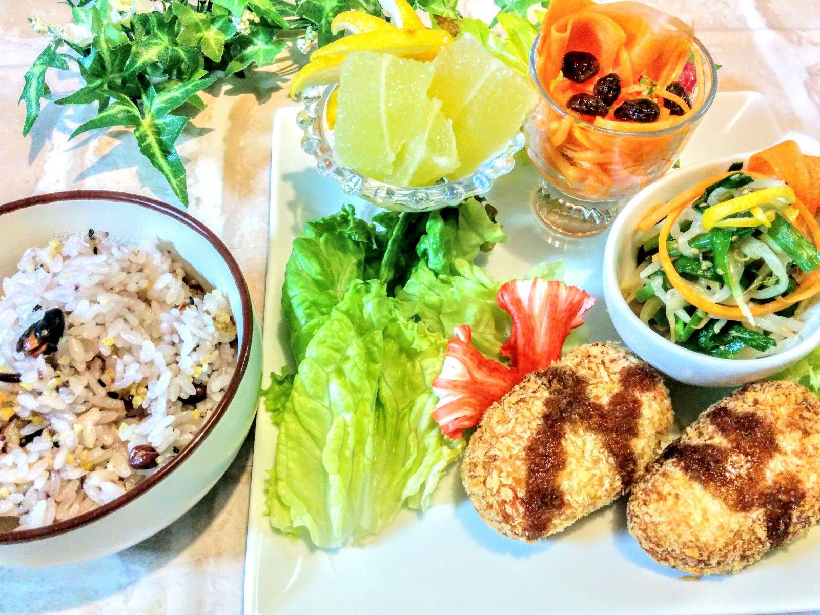 【小樽】お家御飯・長芋とおからのヘルシーコロッケです。