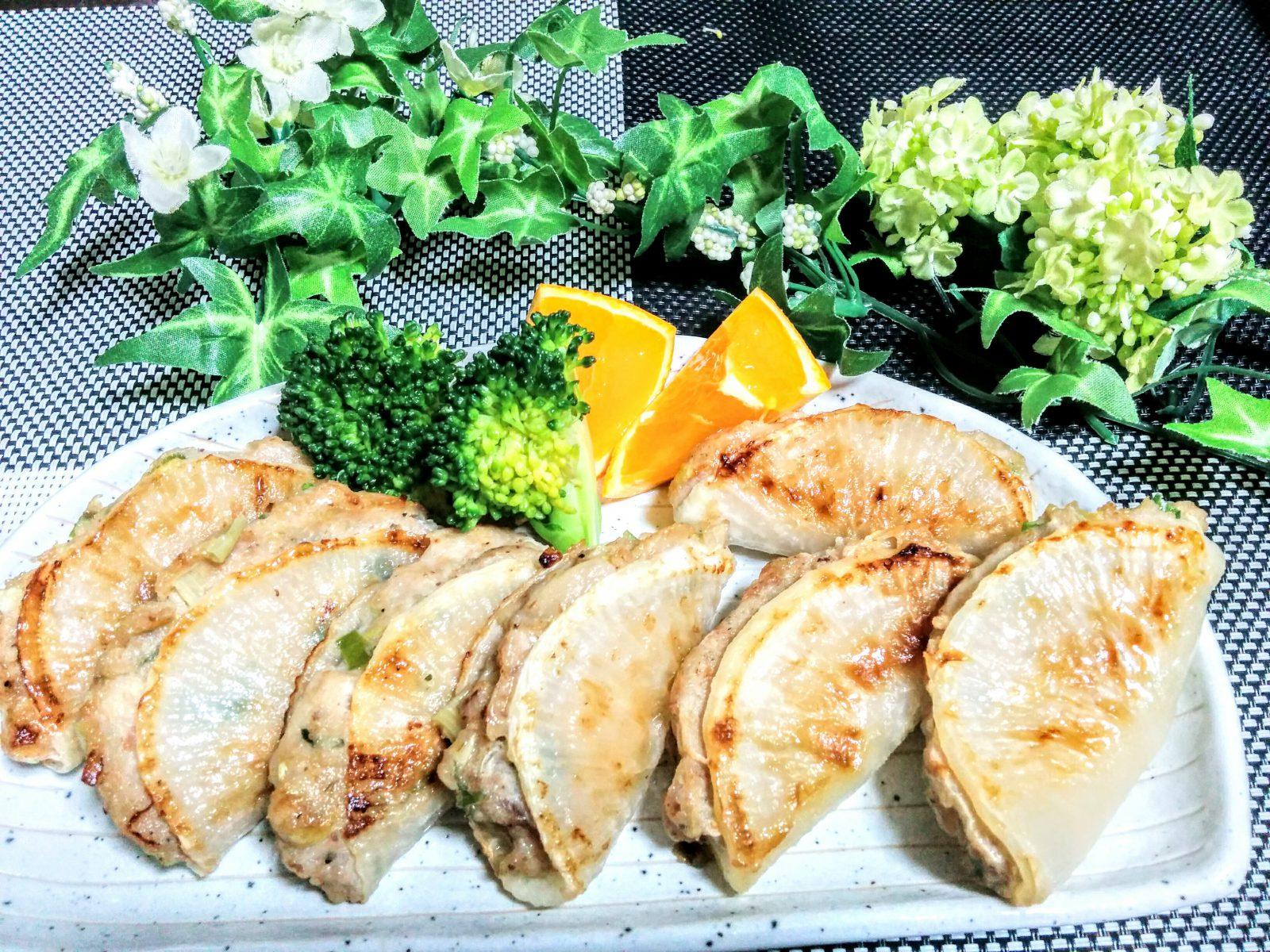 【小樽】お家御飯・大根餃子です。