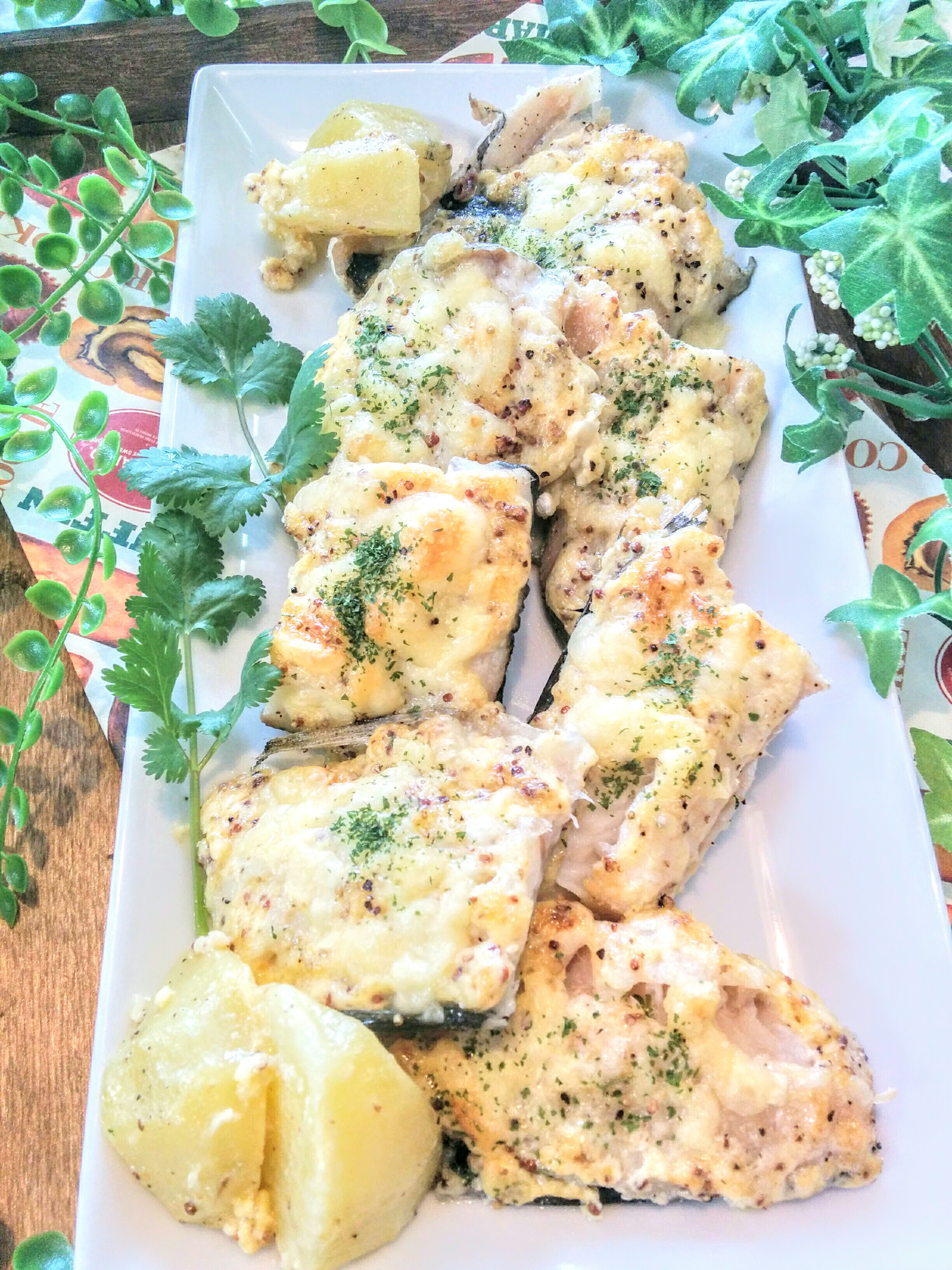【小樽】お家御飯・鱈のマスタードマヨネーズ焼きグルメ案内です。