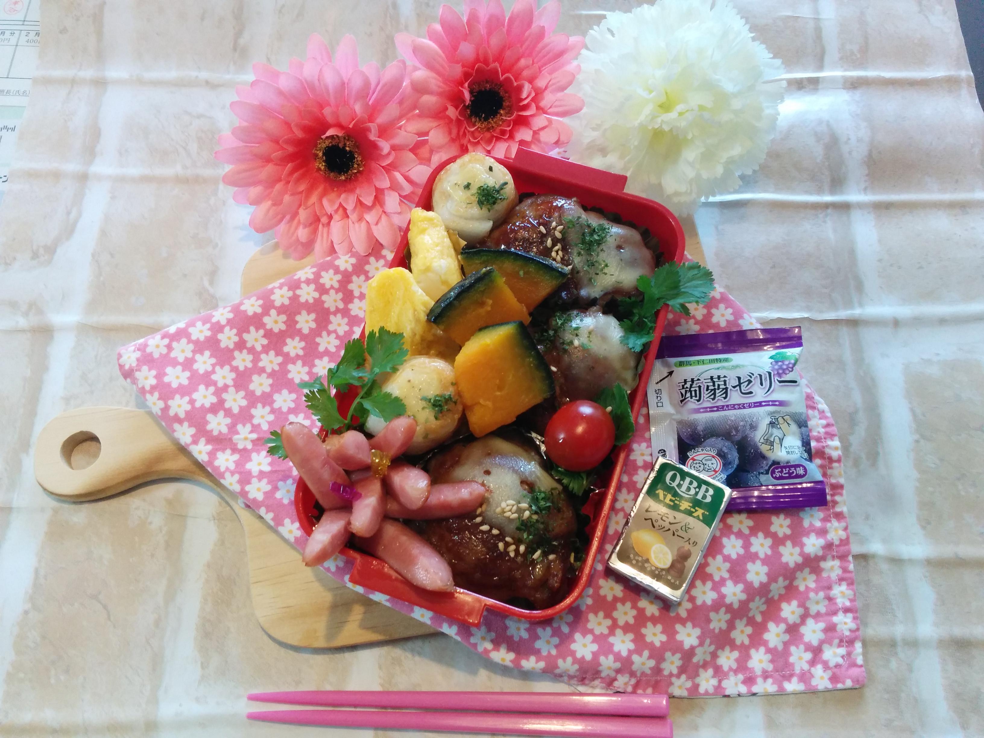 【小樽】娘の今日のお弁当・豚肉巻弁当グルメ案内です。