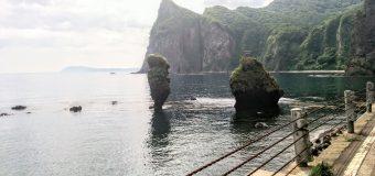 【積丹・セタカムイライン】大黒岩とえびす岩です。