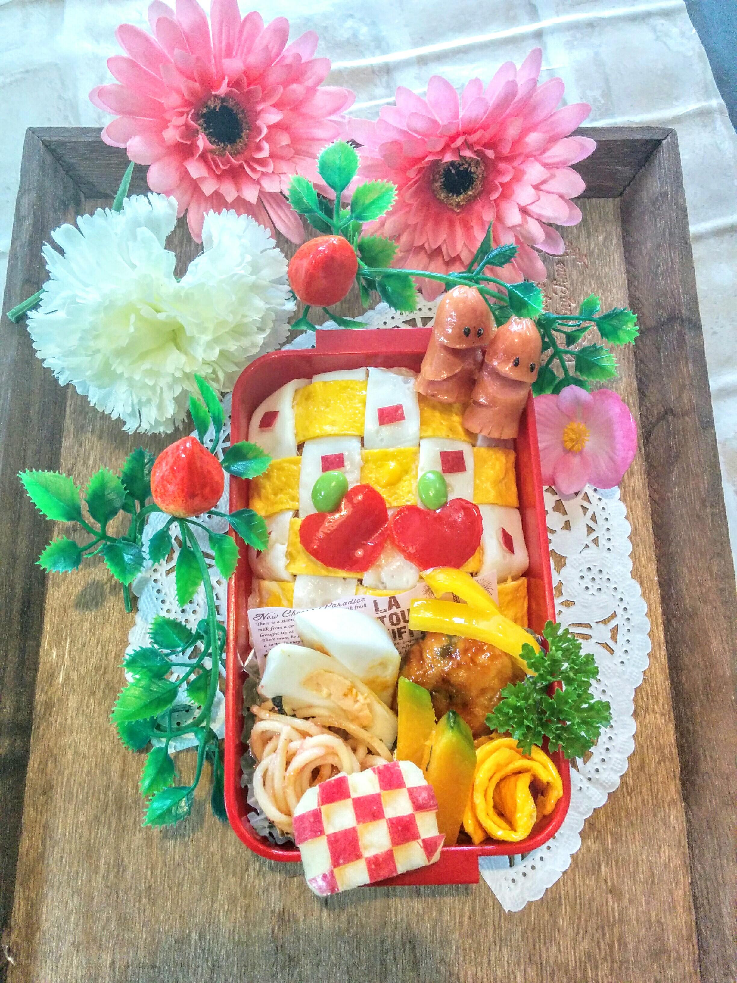【小樽】娘の今日のお弁当・編み編みオムライス弁当グルメ案内です。