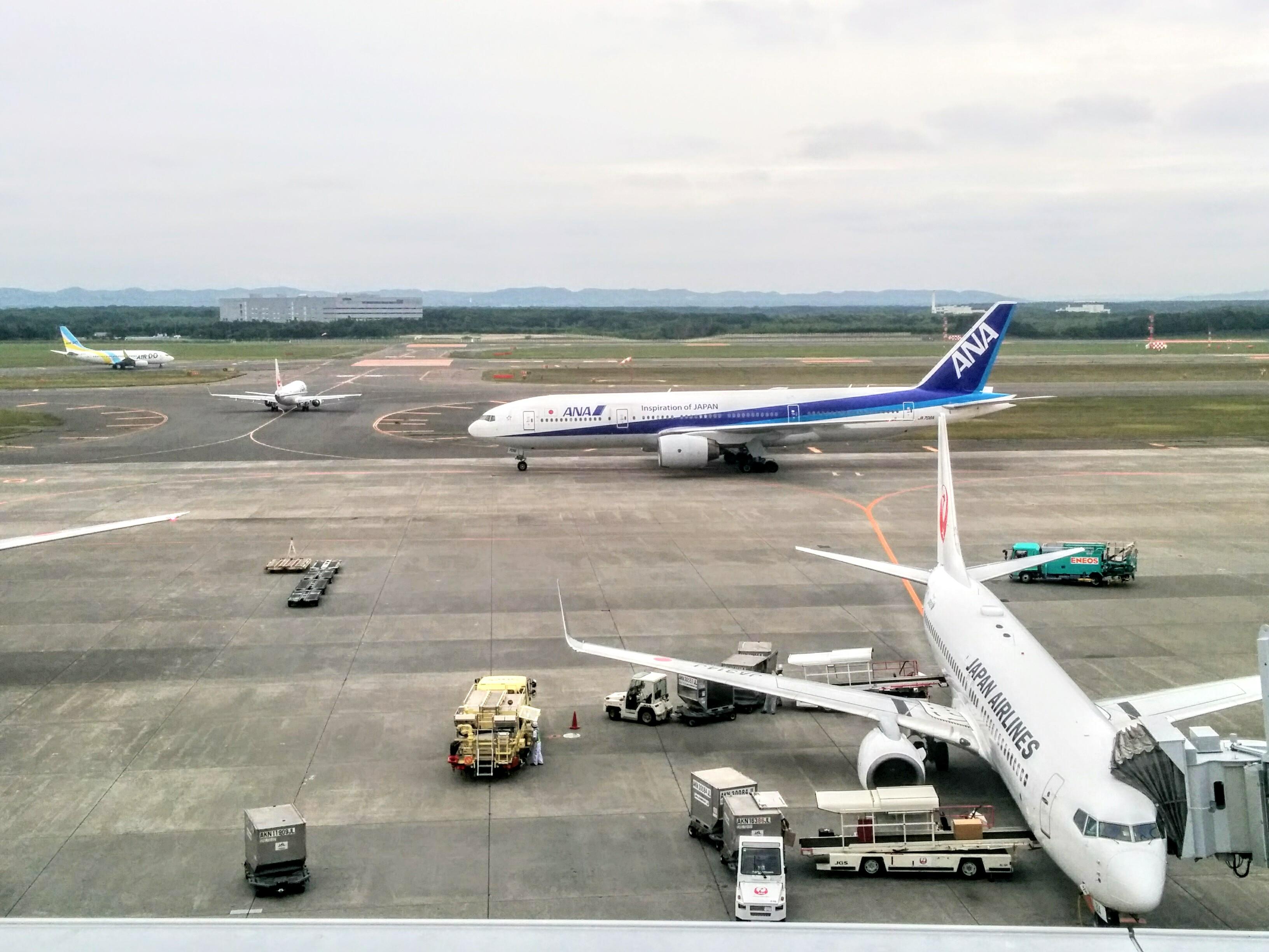 【新千歳空港】展望デッキに行って来ました。